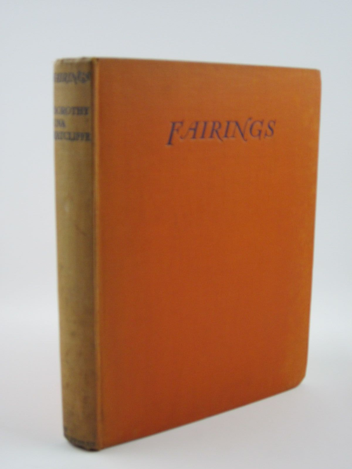 Photo of FAIRINGS written by Ratcliffe, Dorothy Una illustrated by Lawson, Fred published by John Lane The Bodley Head (STOCK CODE: 1401438)  for sale by Stella & Rose's Books