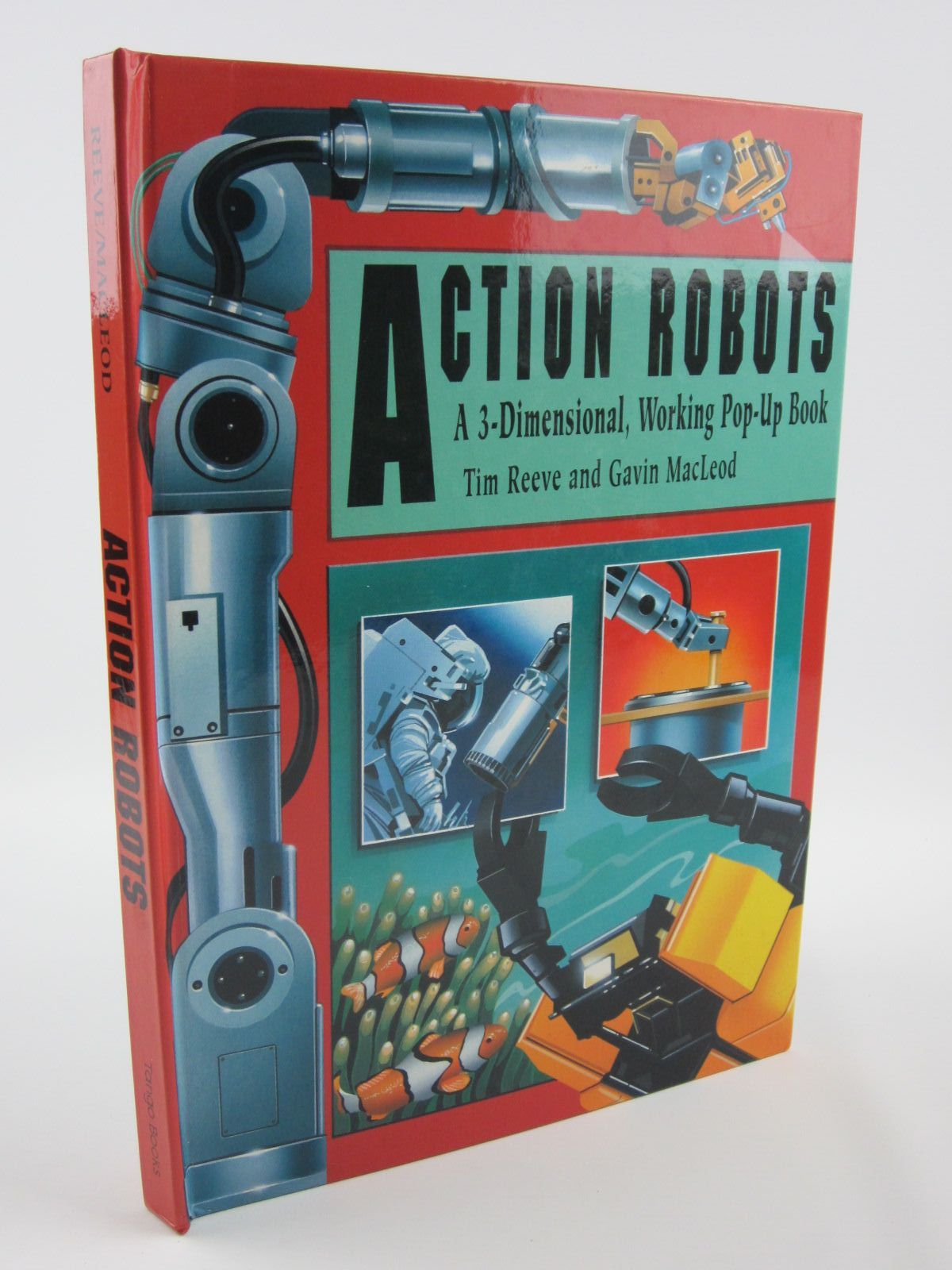 Photo of ACTION ROBOTS written by Reeve, Tim illustrated by Macleod, Gavin published by Tango Books (STOCK CODE: 1401447)  for sale by Stella & Rose's Books