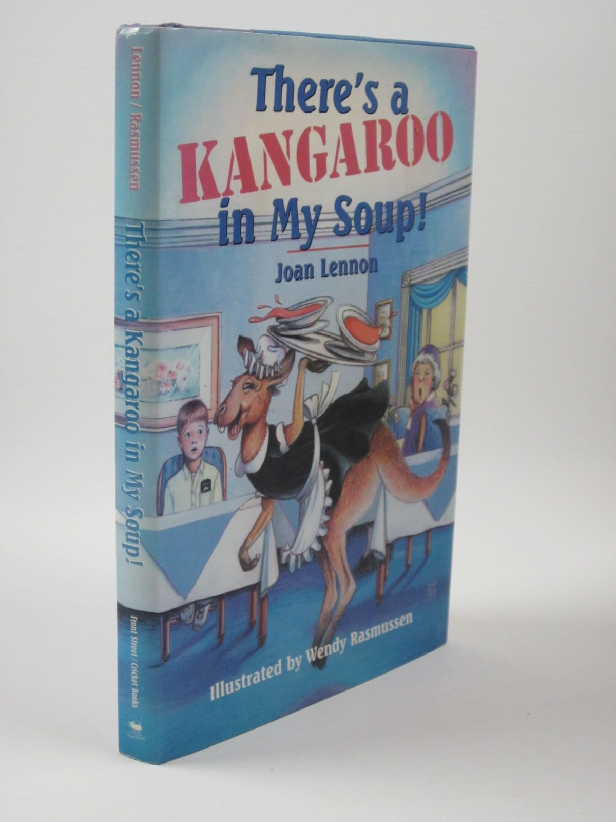 Photo of THERE'S A KANGAROO IN MY SOUP! written by Lennon, Joan illustrated by Rasmussen, Wendy published by Cricket Books (STOCK CODE: 1401554)  for sale by Stella & Rose's Books