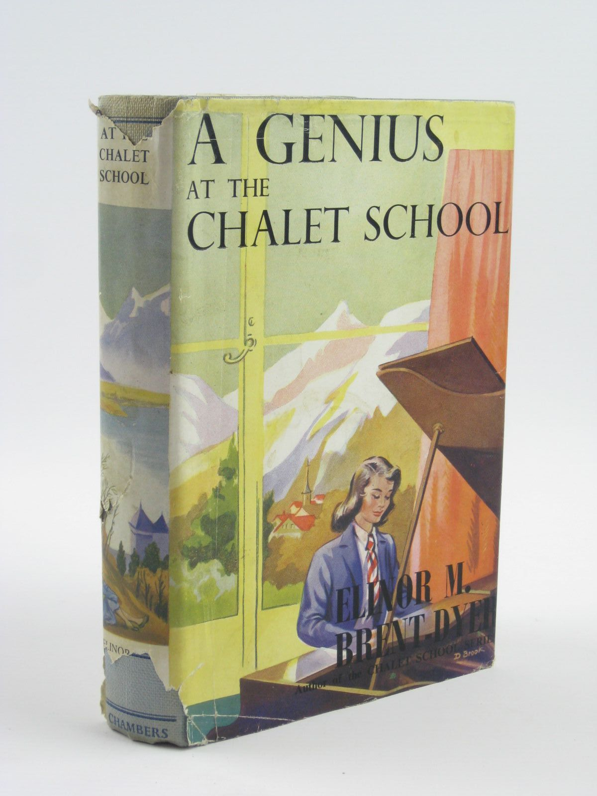 Photo of A GENIUS AT THE CHALET SCHOOL written by Brent-Dyer, Elinor M. published by W. & R. Chambers Limited (STOCK CODE: 1401613)  for sale by Stella & Rose's Books
