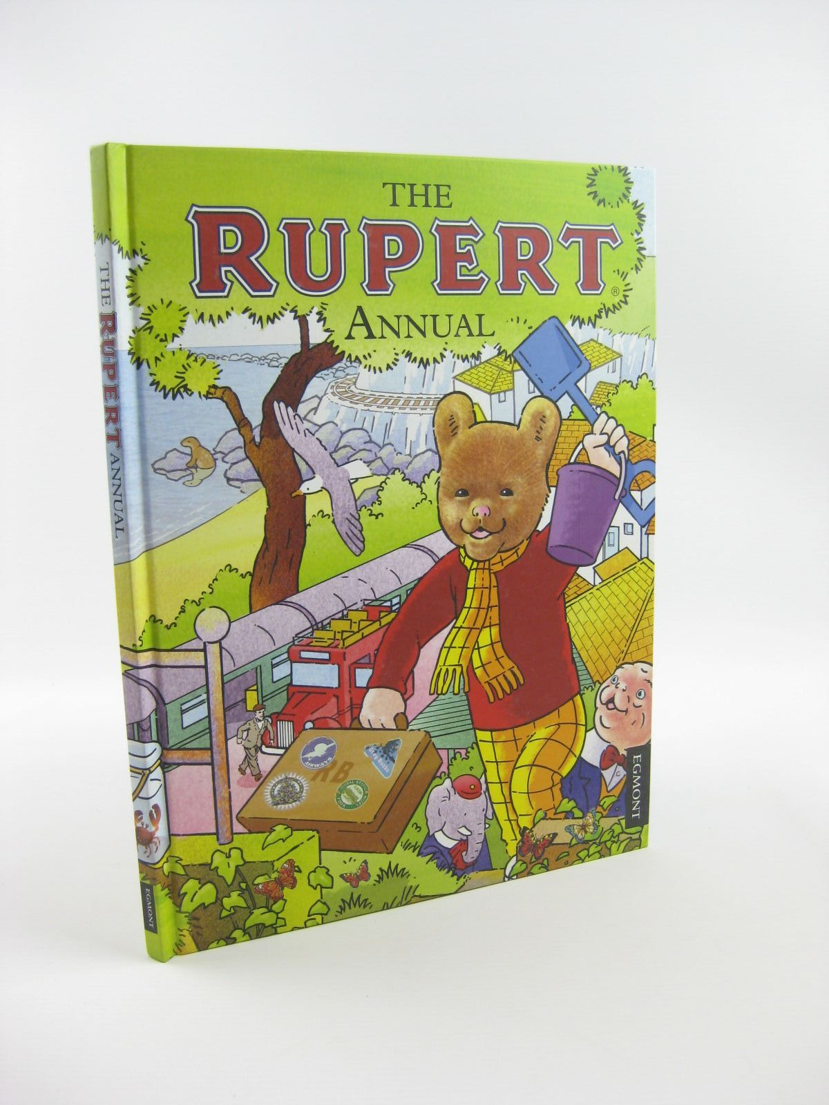 Photo of RUPERT ANNUAL 2012 written by Harwood, Beth<br />Trotter, Stuart illustrated by Trotter, Stuart<br />Bestall, Alfred published by Egmont Uk Limited (STOCK CODE: 1401660)  for sale by Stella & Rose's Books