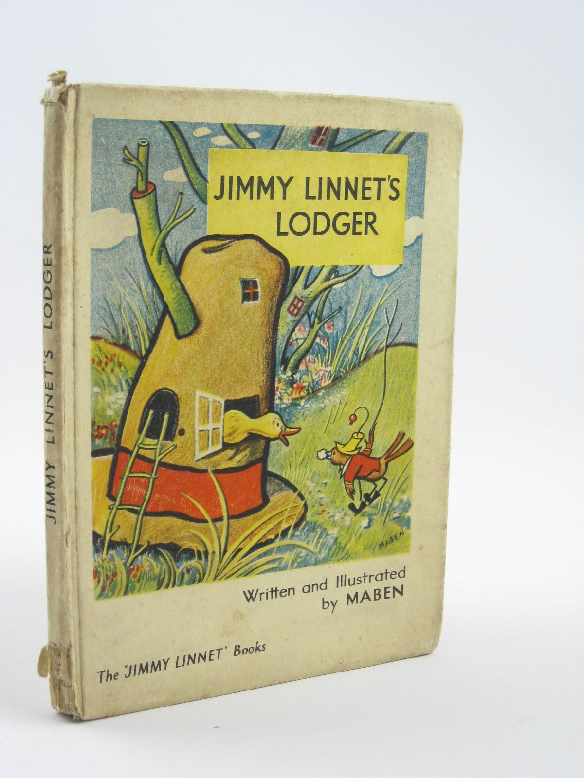Photo of JIMMY LINNET'S LODGER written by Maben,  illustrated by Maben,  published by Frederick Warne & Co Ltd. (STOCK CODE: 1401671)  for sale by Stella & Rose's Books