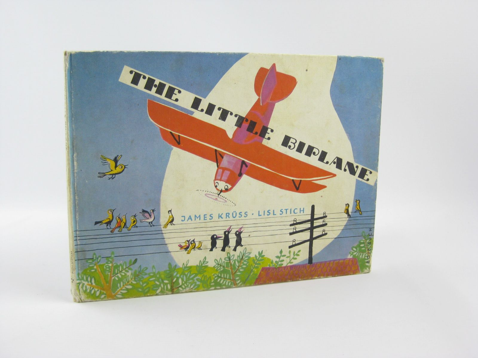Photo of THE LITTLE BIPLANE written by Kruss, James illustrated by Stich, Lisl published by Wheaton (STOCK CODE: 1401715)  for sale by Stella & Rose's Books
