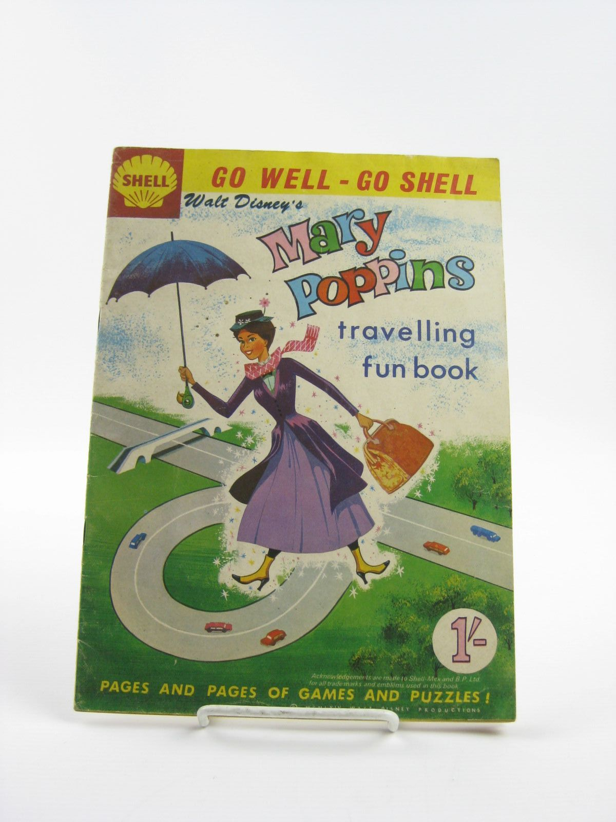 Photo of WALT DISNEY'S MARY POPPINS TRAVELLING FUN BOOK published by Walt Disney Productions (STOCK CODE: 1401763)  for sale by Stella & Rose's Books
