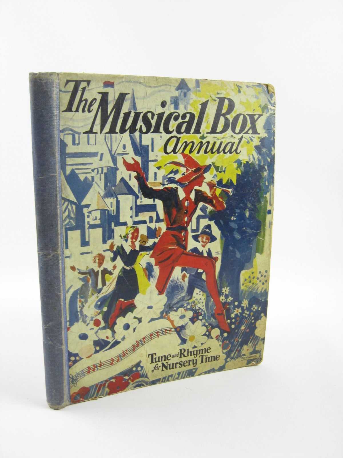 Photo of THE MUSICAL-BOX ANNUAL published by The Fleetway House (STOCK CODE: 1401764)  for sale by Stella & Rose's Books