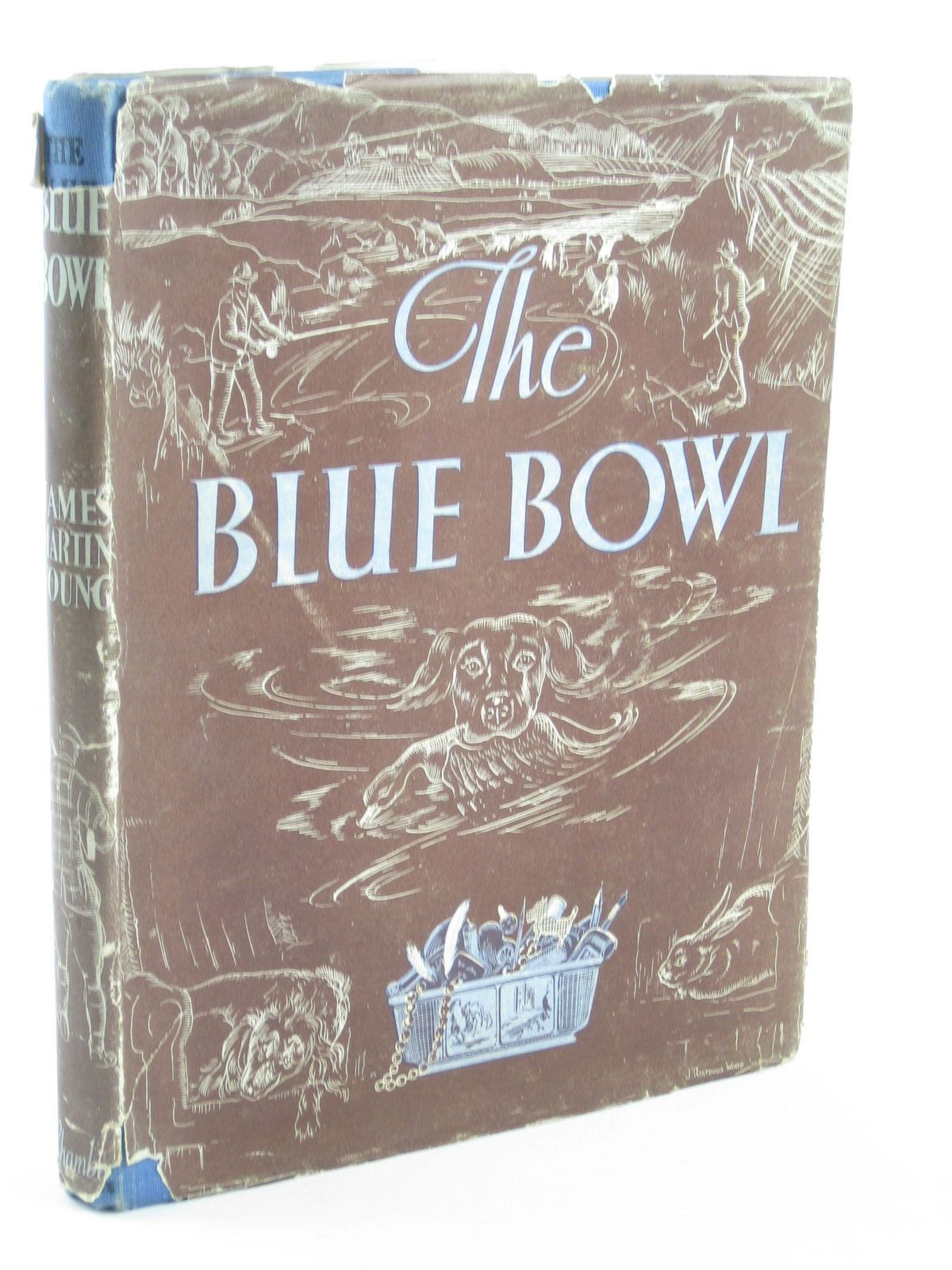 Photo of THE BLUE BOWL written by Young, James Martin illustrated by Young, Mary published by W. & R. Chambers Limited (STOCK CODE: 1401879)  for sale by Stella & Rose's Books