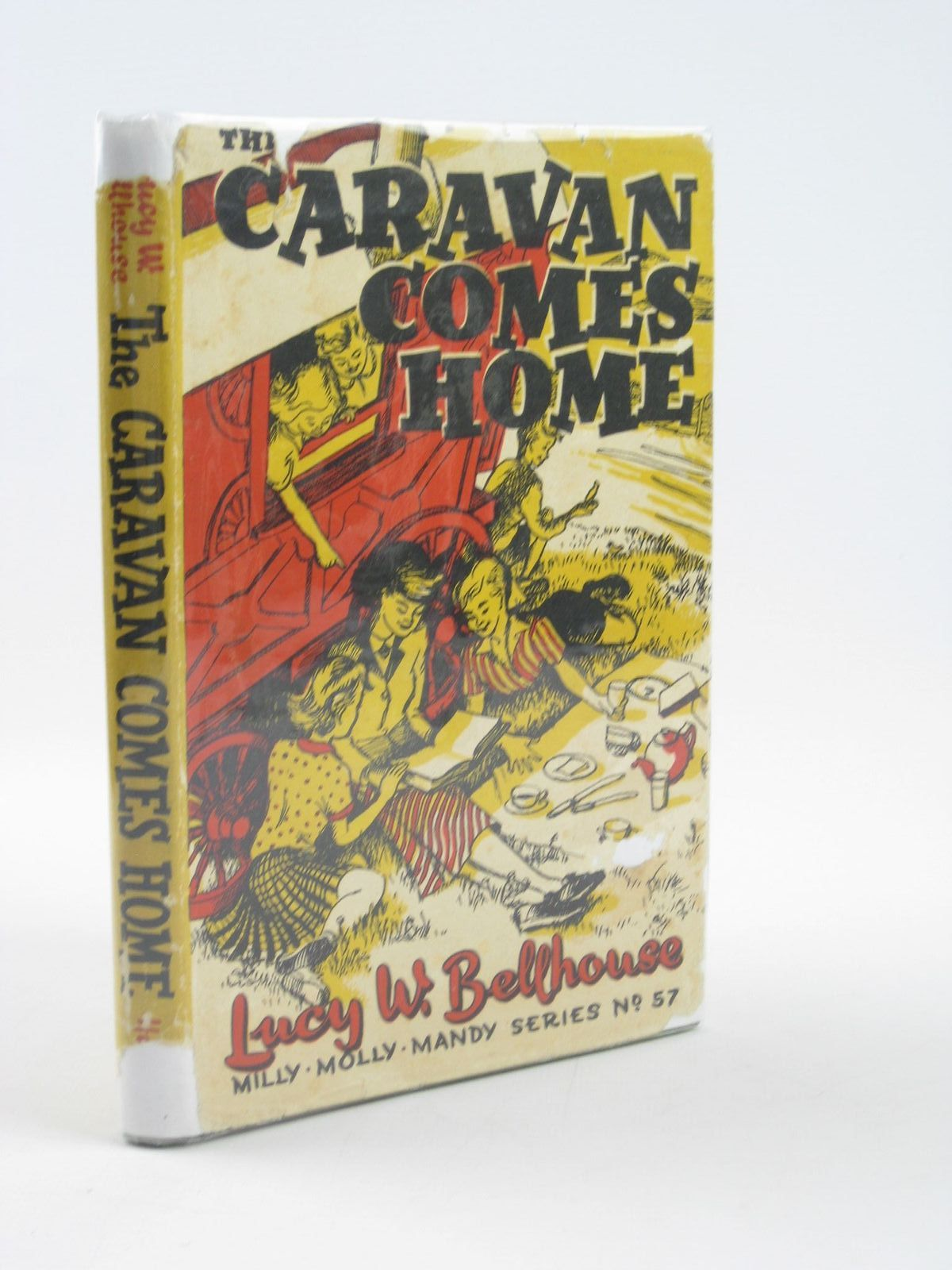 Photo of THE CARAVAN COMES HOME written by Bellhouse, Lucy W. illustrated by Vise, Jennetta published by George G. Harrap & Co. Ltd. (STOCK CODE: 1401972)  for sale by Stella & Rose's Books