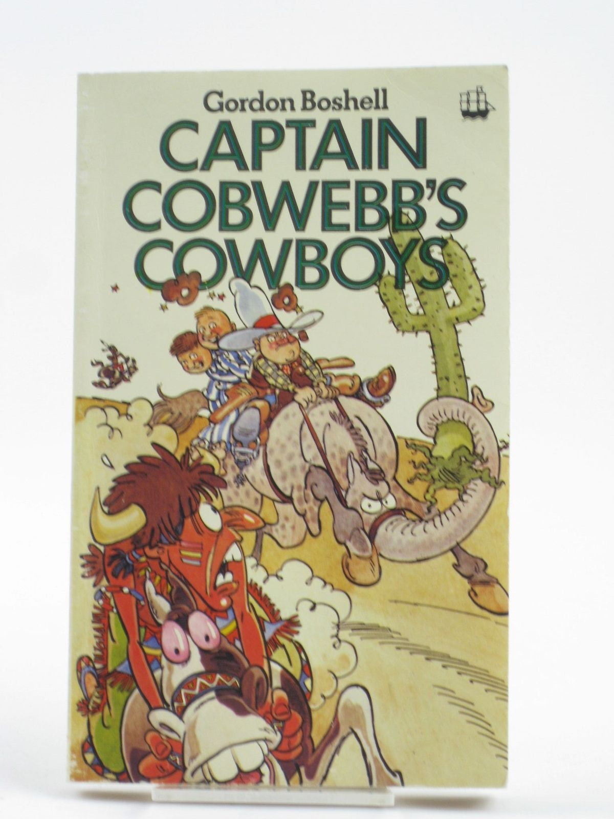 Photo of CAPTAIN COBWEBB'S COWBOYS written by Boshell, Gordon illustrated by Thompson, Graham published by Armada (STOCK CODE: 1401996)  for sale by Stella & Rose's Books