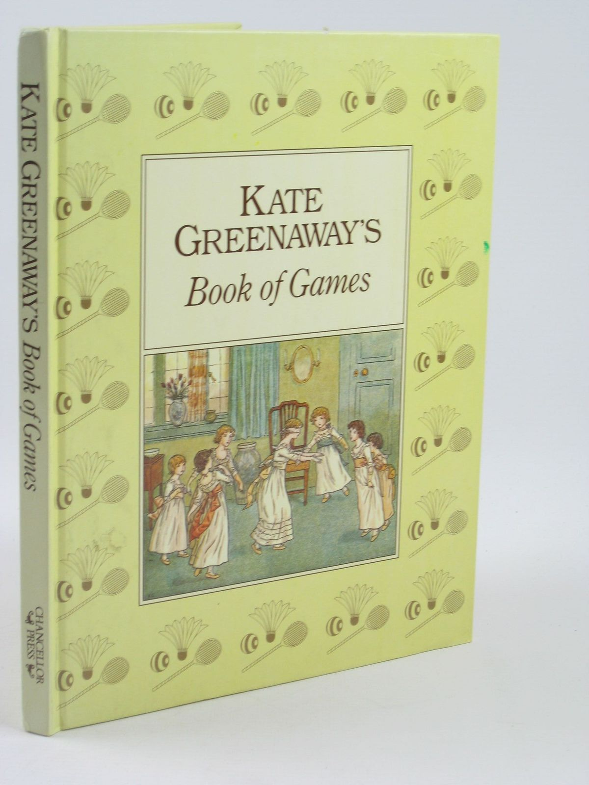 Photo of KATE GREENAWAY'S BOOK OF GAMES written by Greenaway, Kate illustrated by Greenaway, Kate published by Chancellor Press (STOCK CODE: 1402082)  for sale by Stella & Rose's Books
