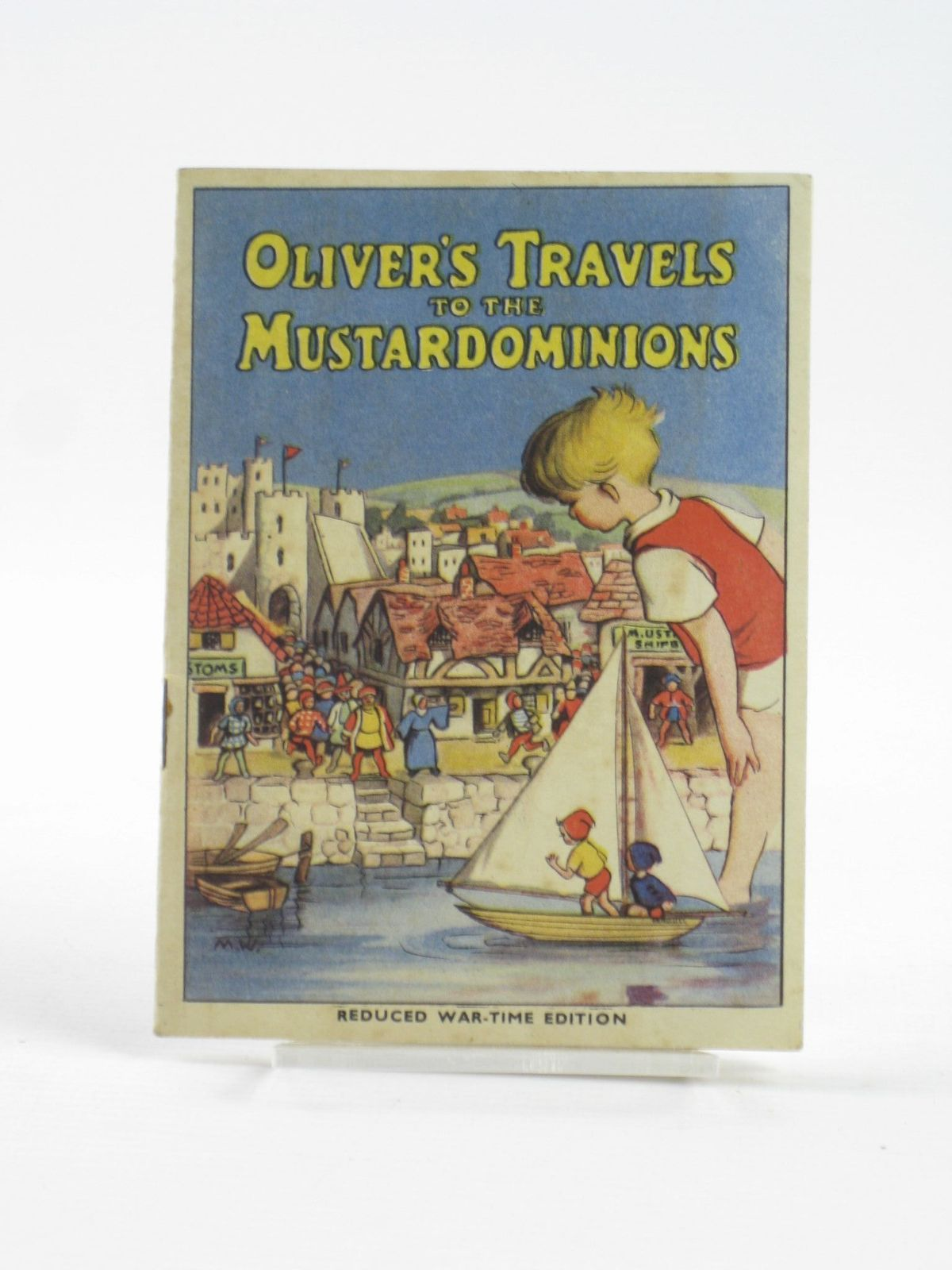 Photo of OLIVER'S TRAVELS TO THE MUSTARDOMINIONS (STOCK CODE: 1402098)  for sale by Stella & Rose's Books