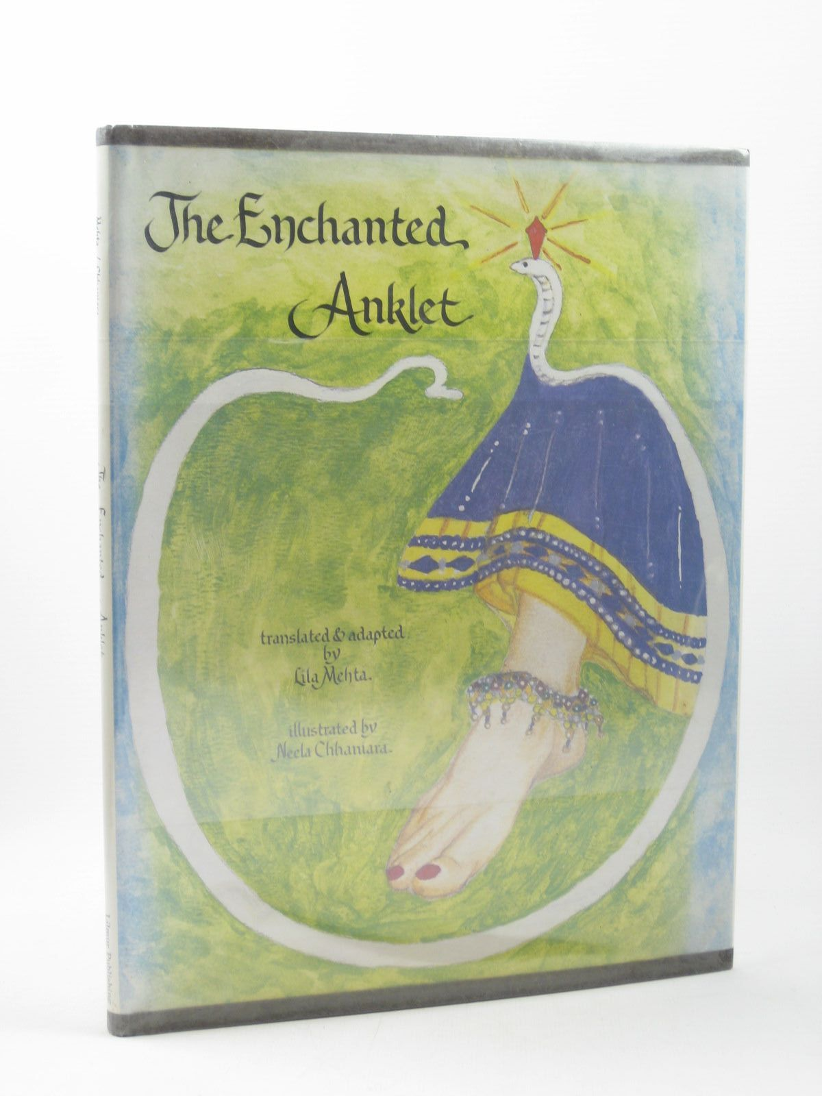 Photo of THE ENCHANTED ANKLET written by Mehta, Lila illustrated by Chhaniara, Neela published by Lilmur Publishing (STOCK CODE: 1402352)  for sale by Stella & Rose's Books