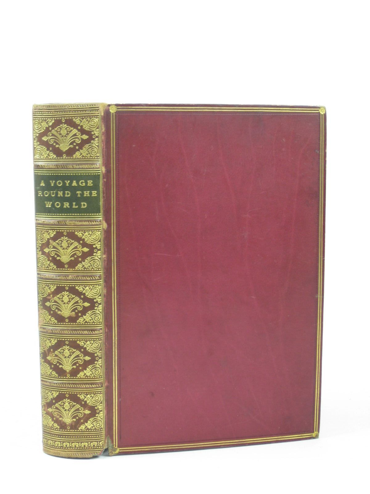 Photo of A VOYAGE ROUND THE WORLD written by Kingston, W.H.G. published by T. Nelson & Sons (STOCK CODE: 1402405)  for sale by Stella & Rose's Books