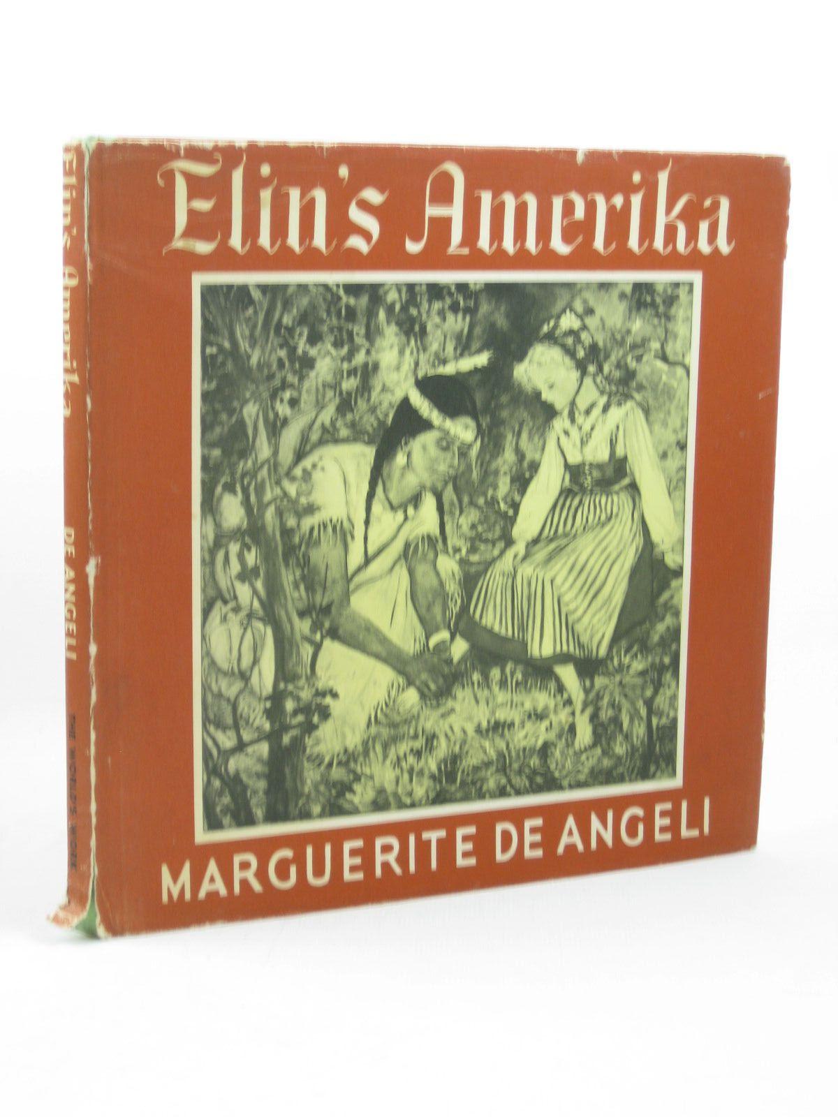 Photo of ELIN'S AMERIKA written by De Angeli, Marguerite illustrated by De Angeli, Marguerite published by World's Work Ltd. (STOCK CODE: 1402603)  for sale by Stella & Rose's Books