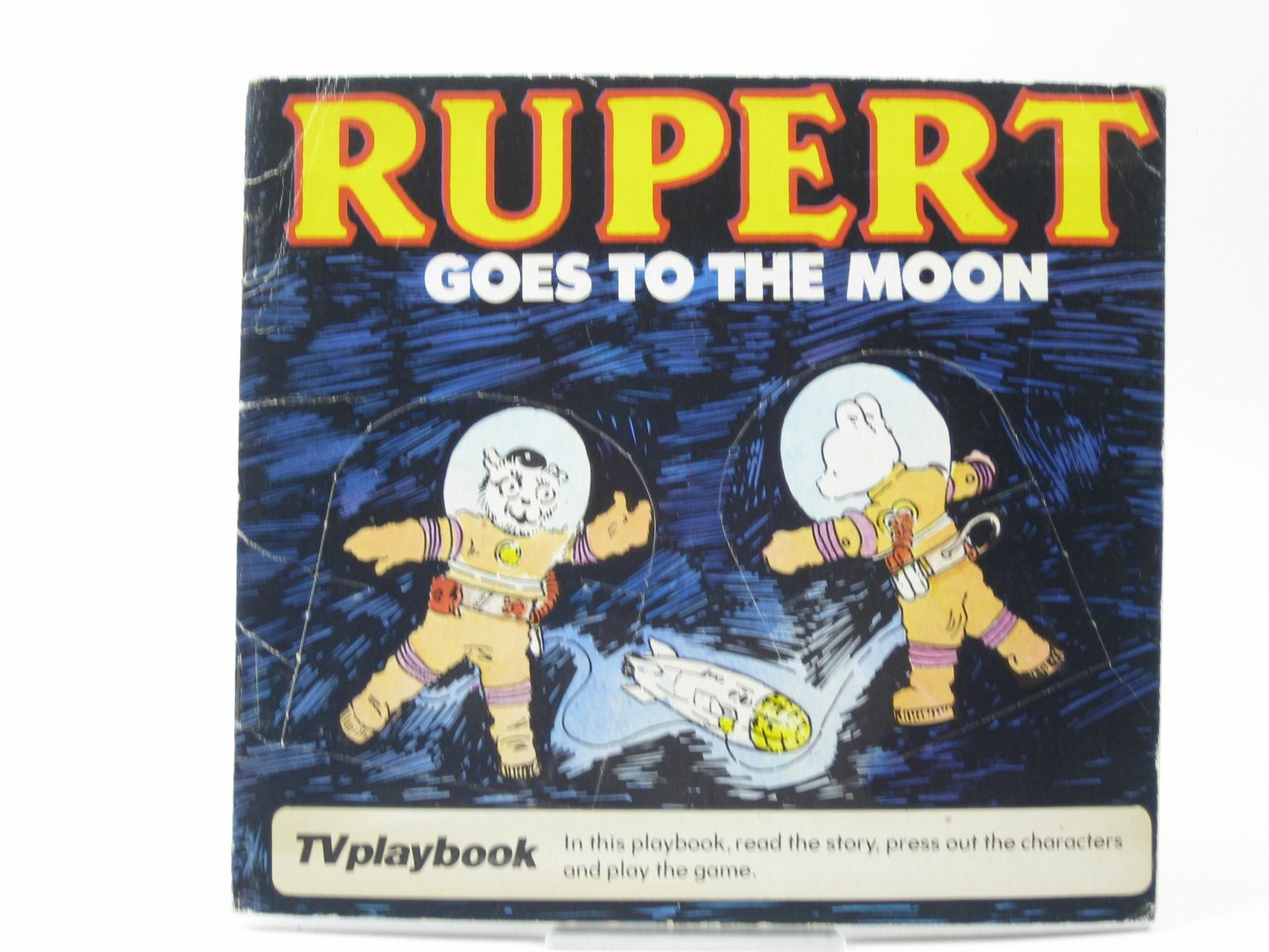 Photo of RUPERT GOES TO THE MOON written by Wells, Mick illustrated by Wells, Mick published by Michael Stanfield Holdings Ltd. (STOCK CODE: 1402699)  for sale by Stella & Rose's Books