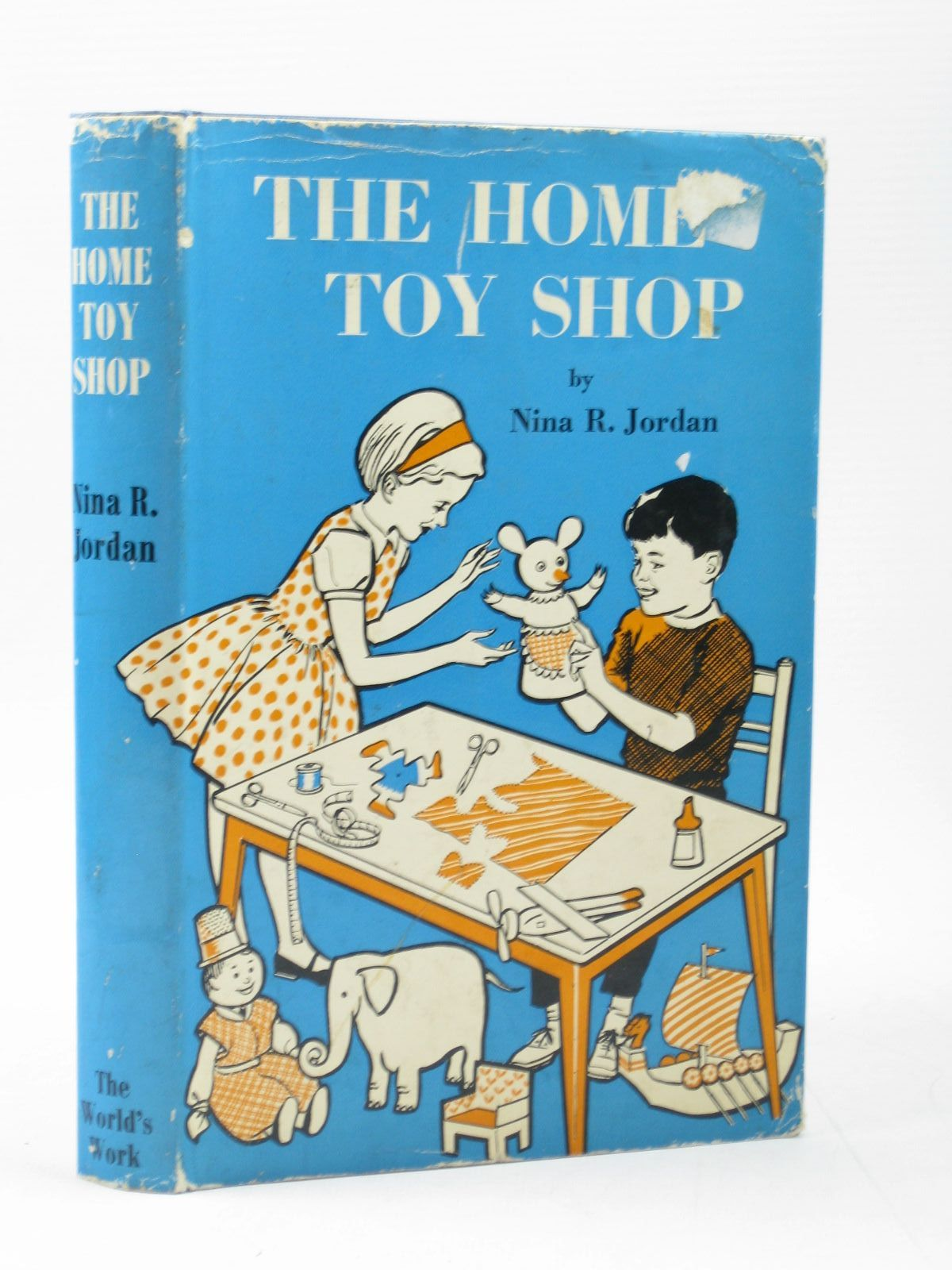 Photo of THE HOME TOY SHOP written by Jordan, Nina R. illustrated by Jordan, Nina R. published by World's Work Ltd. (STOCK CODE: 1402712)  for sale by Stella & Rose's Books