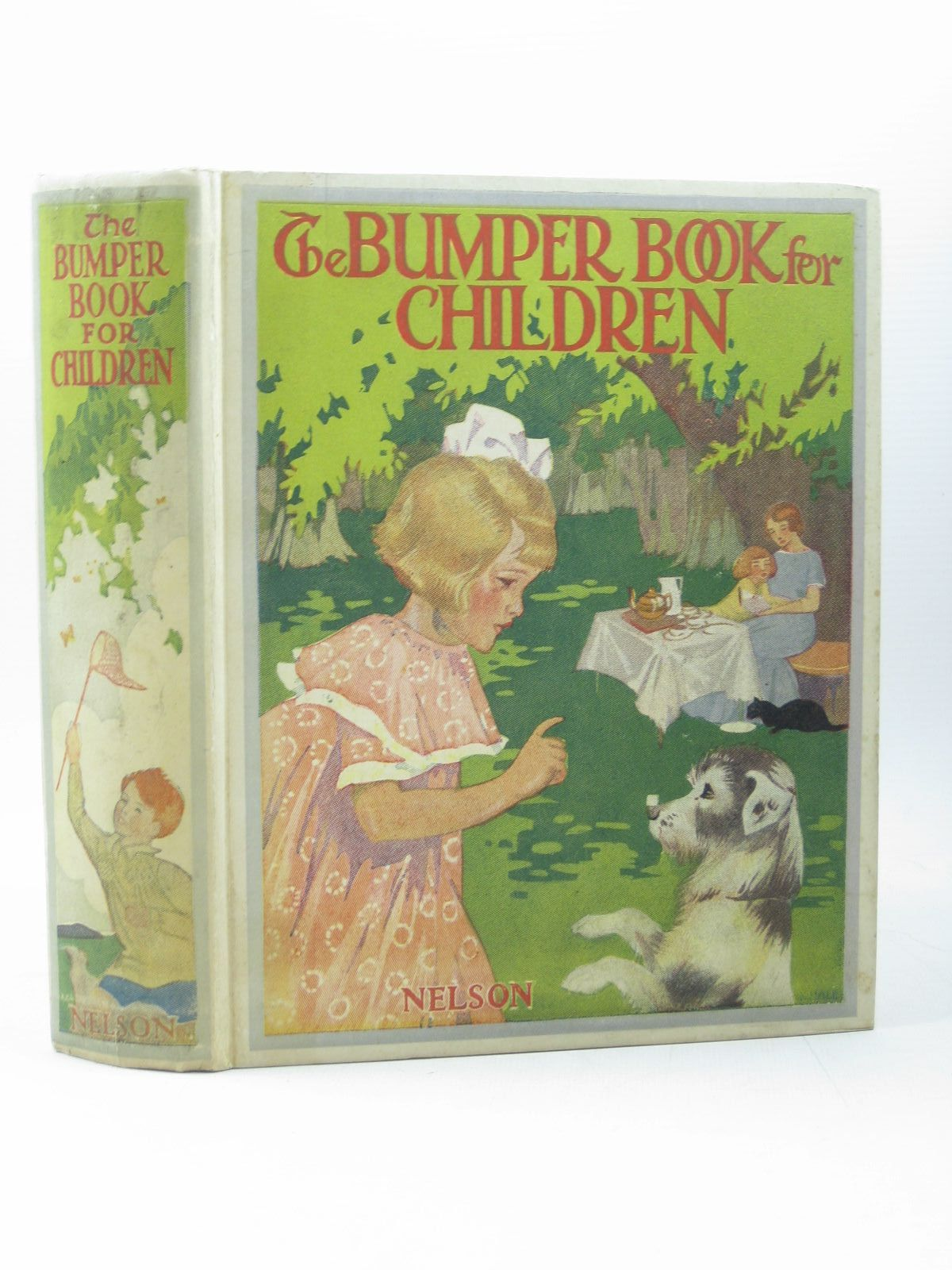 Photo of THE BUMPER BOOK FOR CHILDREN written by Blyton, Enid<br />Bingham, Clifton<br />Newton, Dora<br />et al,  illustrated by Cowham, Hilda<br />Adams, Frank<br />Hudson, Gwynedd M.<br />et al.,  published by Thomas Nelson and Sons Ltd. (STOCK CODE: 1402734)  for sale by Stella & Rose's Books