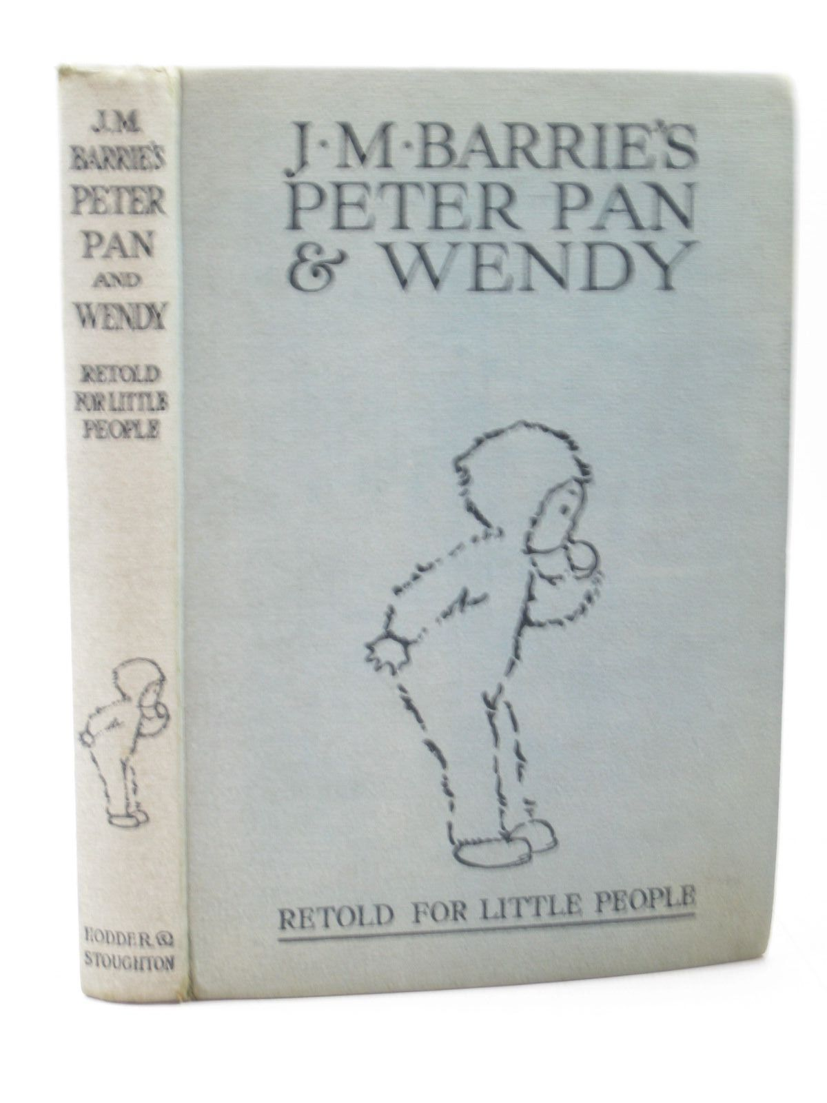 J.M. BARRIE'S PETER PAN & WENDY. by J.M. Barrie; May Byron. Illustrated by Mabel  Lucie Attwell