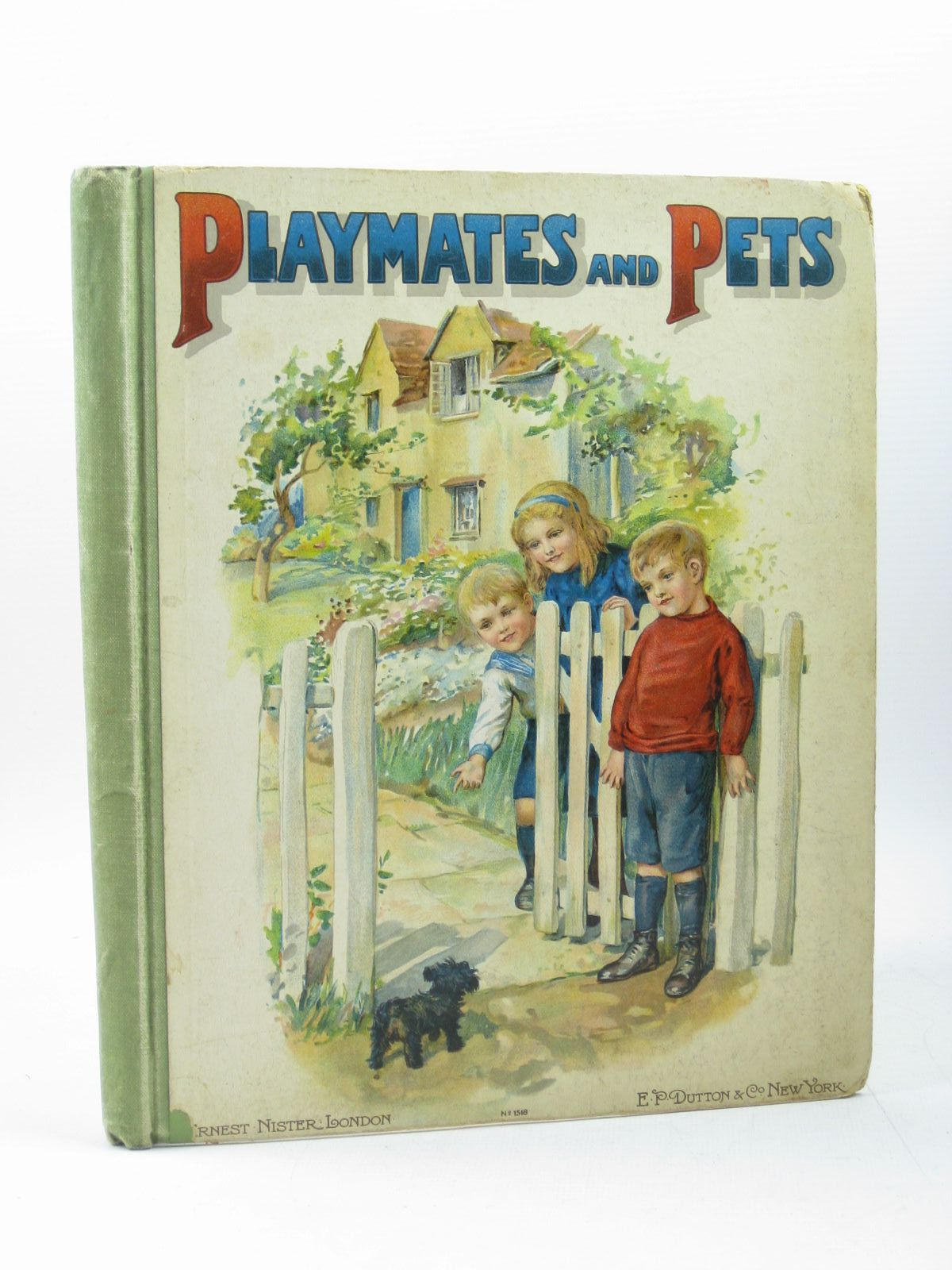 Photo of PLAYMATES AND PETS published by Ernest Nister, E.P. Dutton & Co. (STOCK CODE: 1402761)  for sale by Stella & Rose's Books