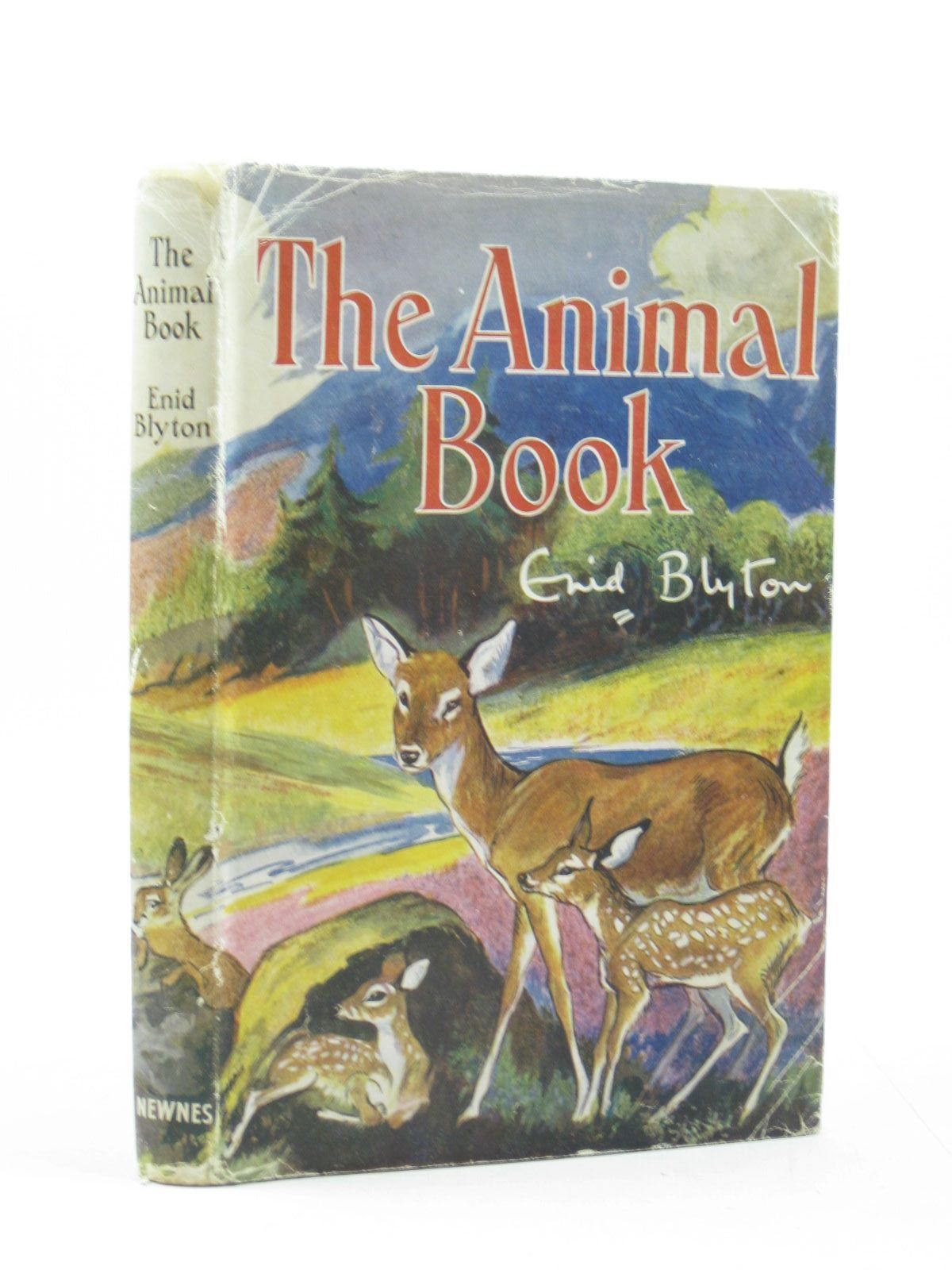 Photo of THE ANIMAL BOOK written by Blyton, Enid illustrated by Nixon, Kathleen published by George Newnes Ltd. (STOCK CODE: 1402817)  for sale by Stella & Rose's Books
