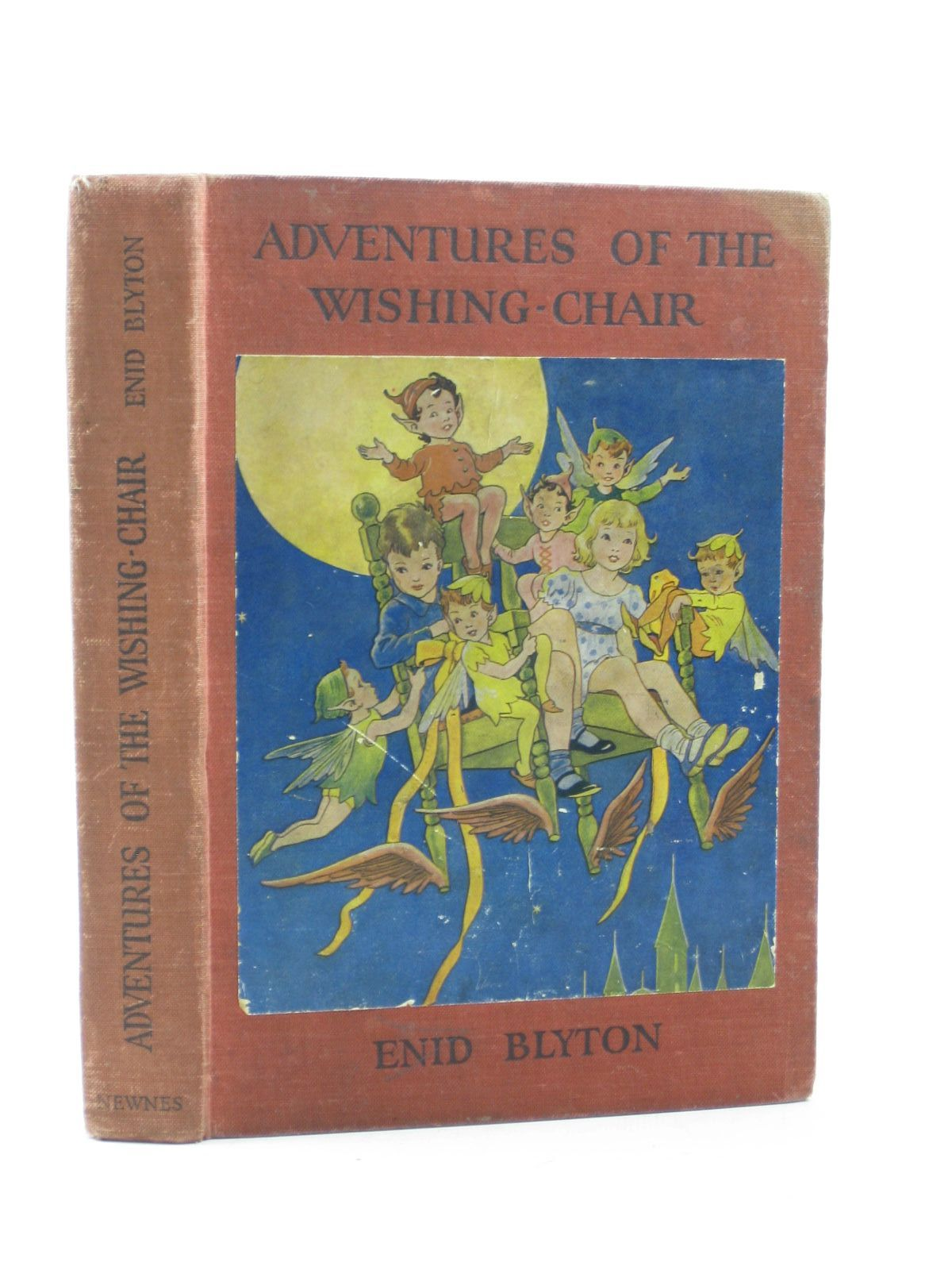 Photo of ADVENTURES OF THE WISHING-CHAIR written by Blyton, Enid illustrated by McGavin, Hilda published by George Newnes Limited (STOCK CODE: 1402840)  for sale by Stella & Rose's Books