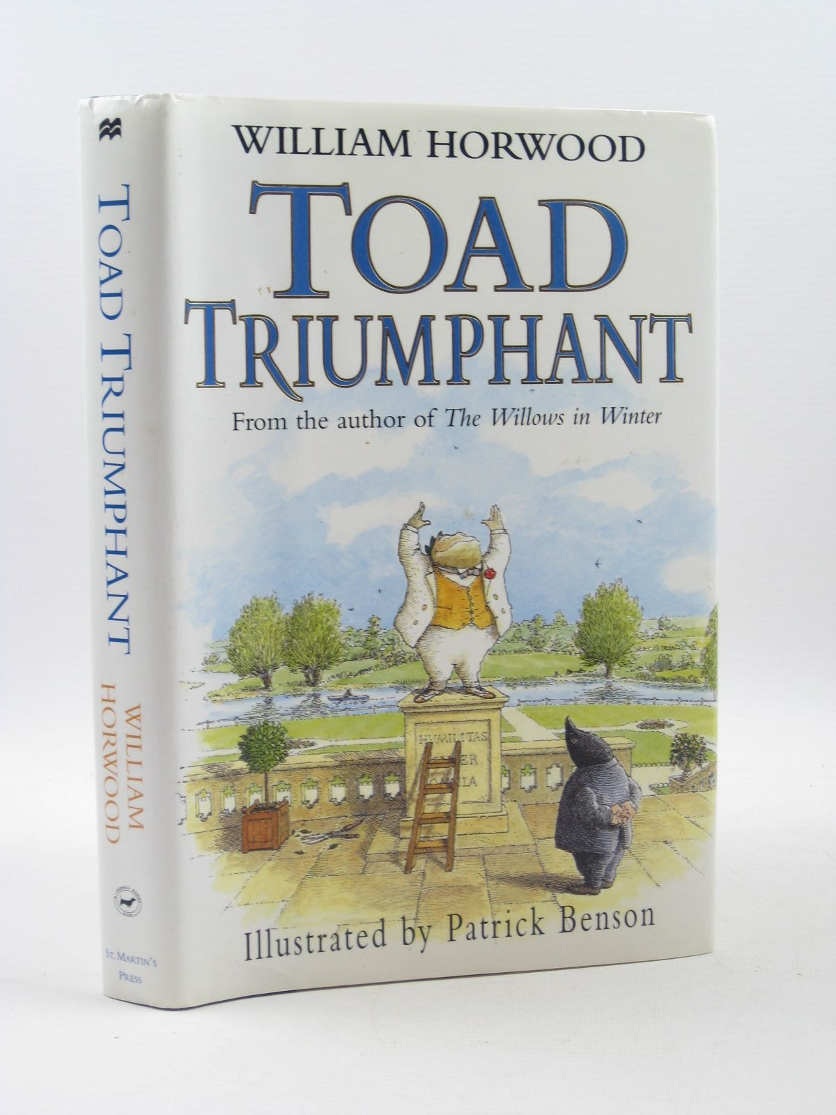Photo of TOAD TRIUMPHANT written by Horwood, William illustrated by Benson, Patrick published by St. Martin's Press, New York (STOCK CODE: 1402850)  for sale by Stella & Rose's Books
