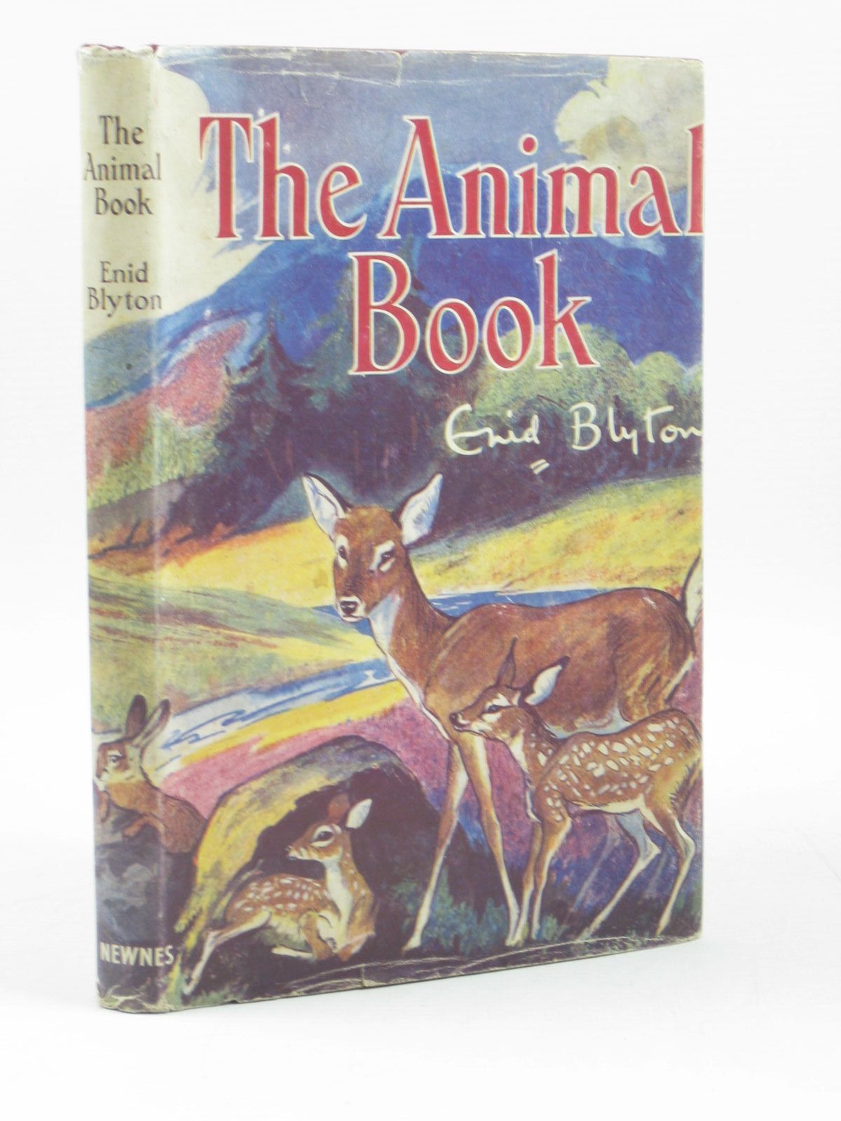 Photo of THE ANIMAL BOOK written by Blyton, Enid illustrated by Nixon, Kathleen published by George Newnes Limited (STOCK CODE: 1403185)  for sale by Stella & Rose's Books