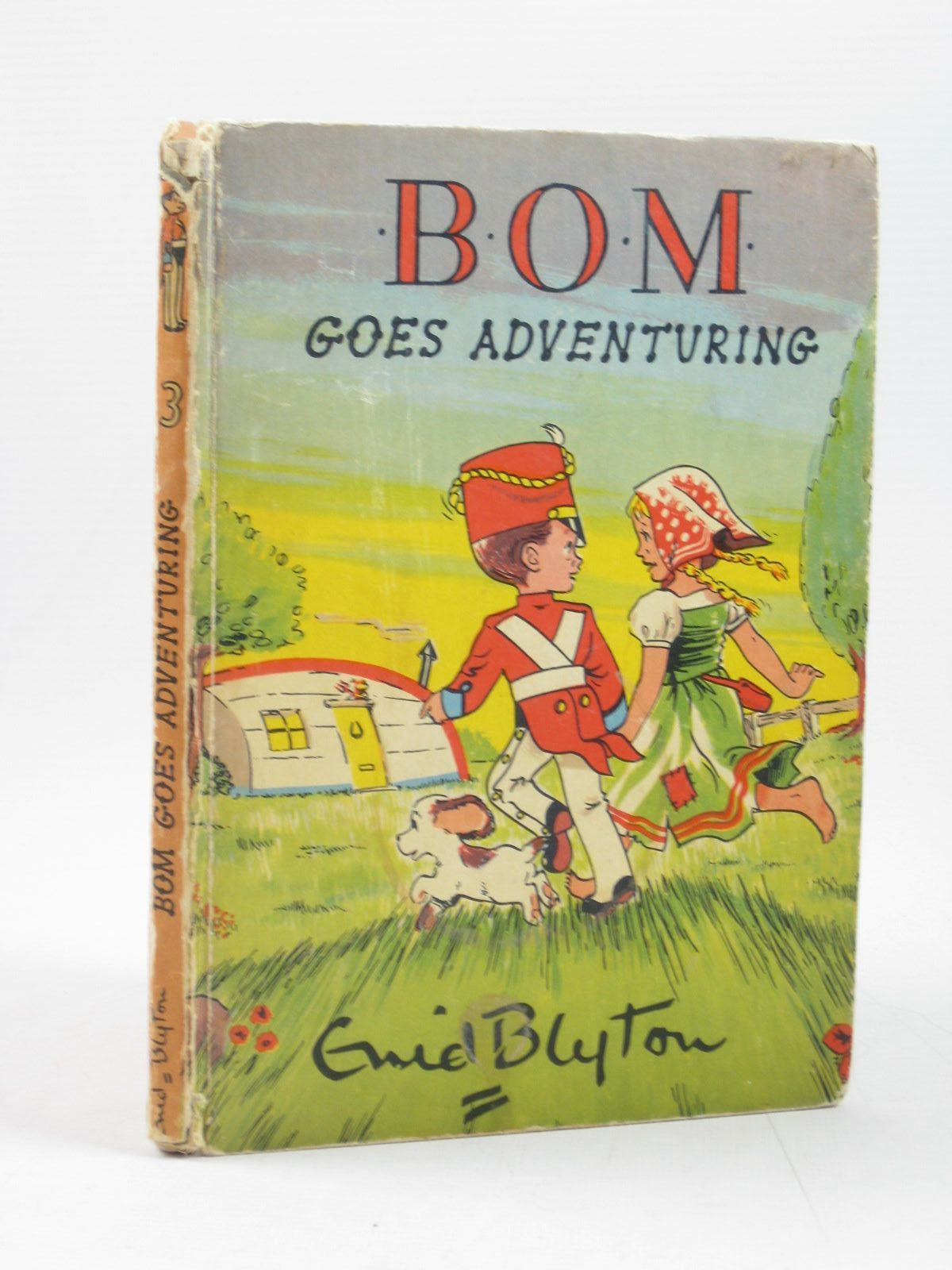 Photo of BOM GOES ADVENTURING written by Blyton, Enid illustrated by Paul-Hoye, R. published by The Brockhampton Press Ltd. (STOCK CODE: 1403201)  for sale by Stella & Rose's Books
