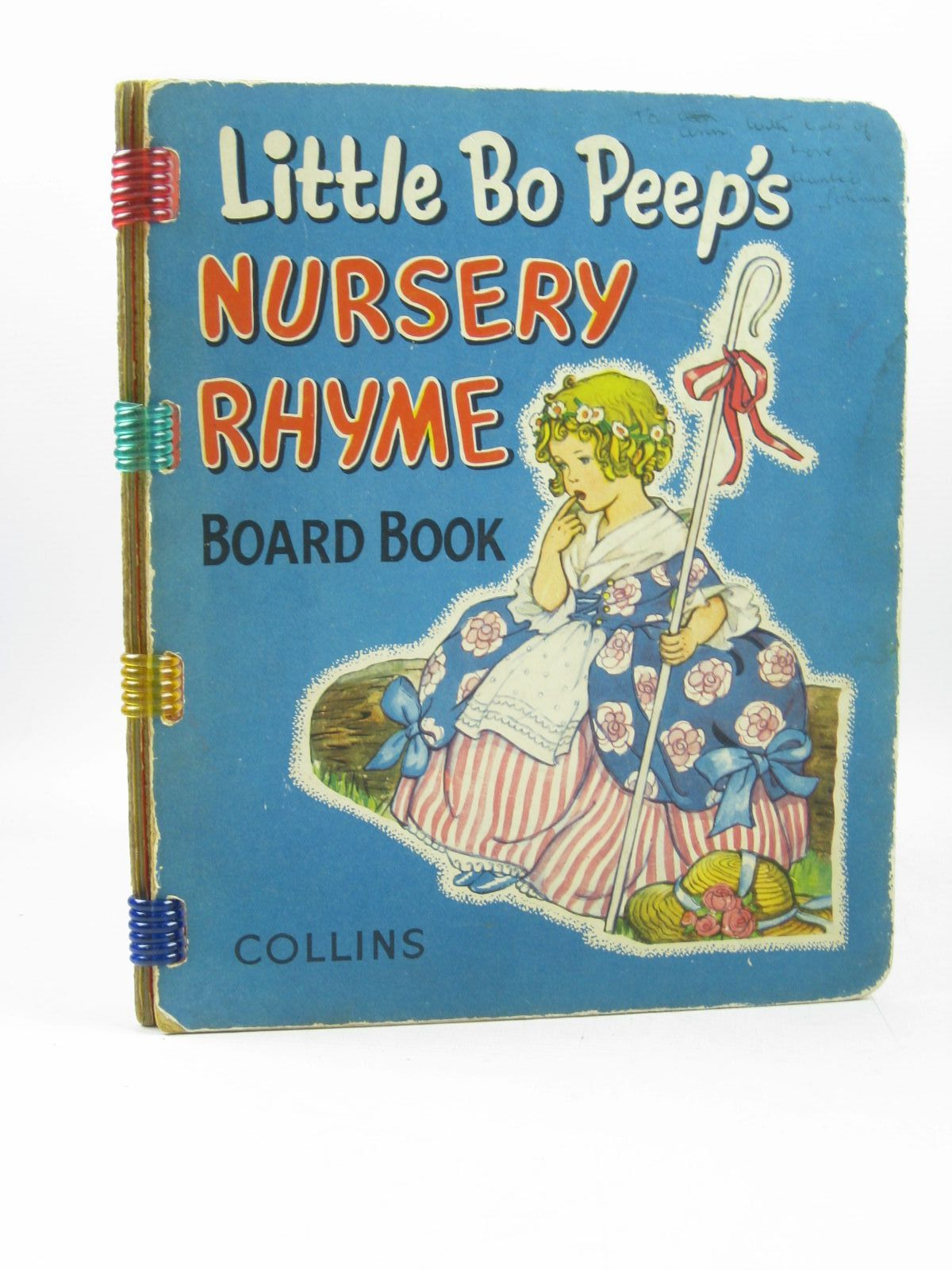Photo of LITTLE BO-PEEP'S NURSERY RHYME BOARD BOOK illustrated by E.W.B., published by Collins (STOCK CODE: 1403232)  for sale by Stella & Rose's Books