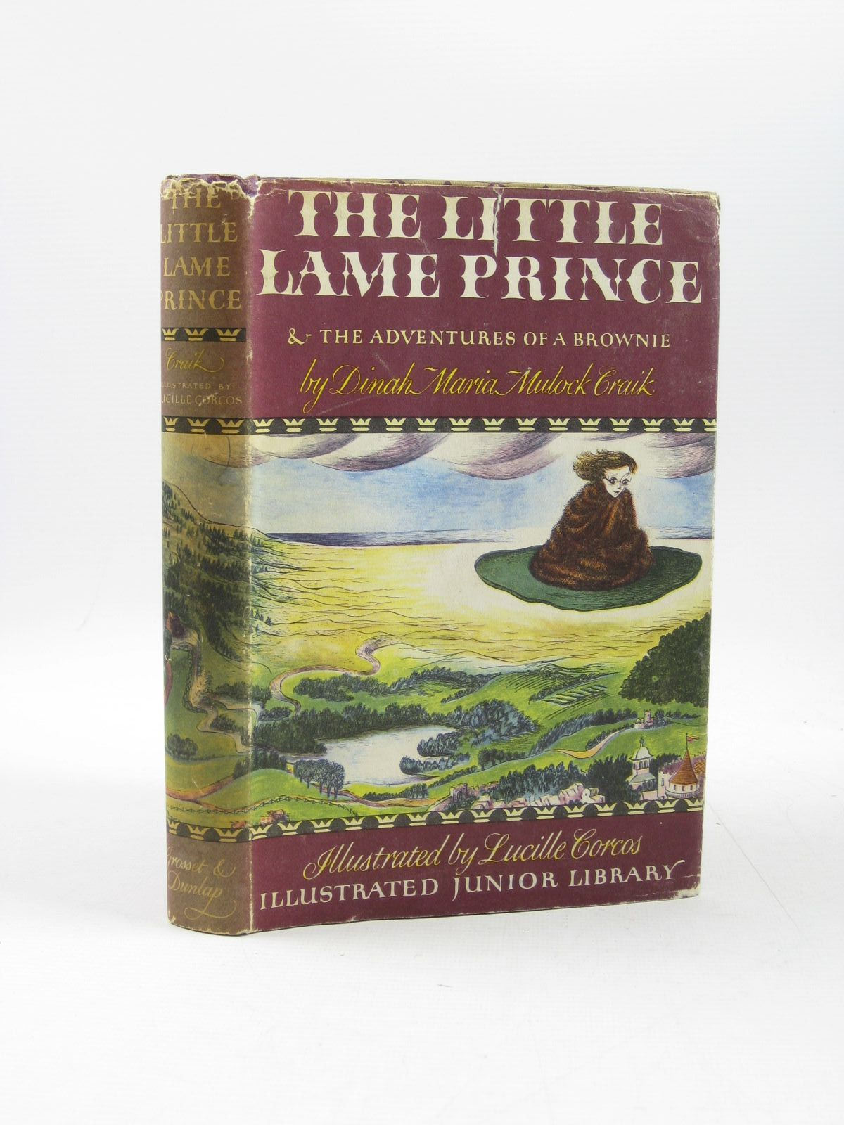 Photo of THE LITTLE LAME PRINCE AND THE ADVENTURES OF A BROWNIE written by Craik, Mrs. Dinah illustrated by Corcos, Lucille published by Grosset & Dunlap (STOCK CODE: 1403272)  for sale by Stella & Rose's Books