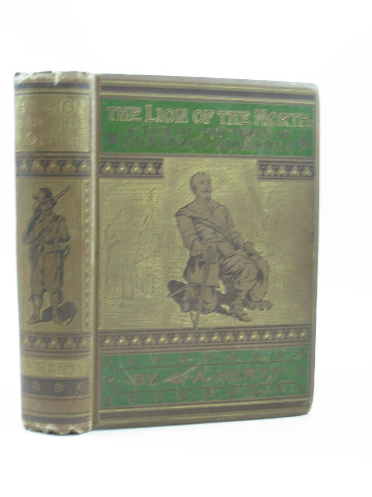 Photo of THE LION OF THE NORTH written by Henty, G.A. illustrated by Schonberg, John published by Blackie & Son Ltd. (STOCK CODE: 1403303)  for sale by Stella & Rose's Books
