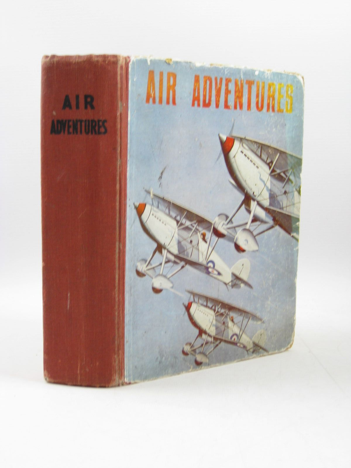 Photo of AIR ADVENTURES written by Johns, W.E.<br />Rochester, George E.<br />et al,  illustrated by Bradshaw, Stanley Orton<br />et al.,  published by The Ace Publishing Company (STOCK CODE: 1403311)  for sale by Stella & Rose's Books
