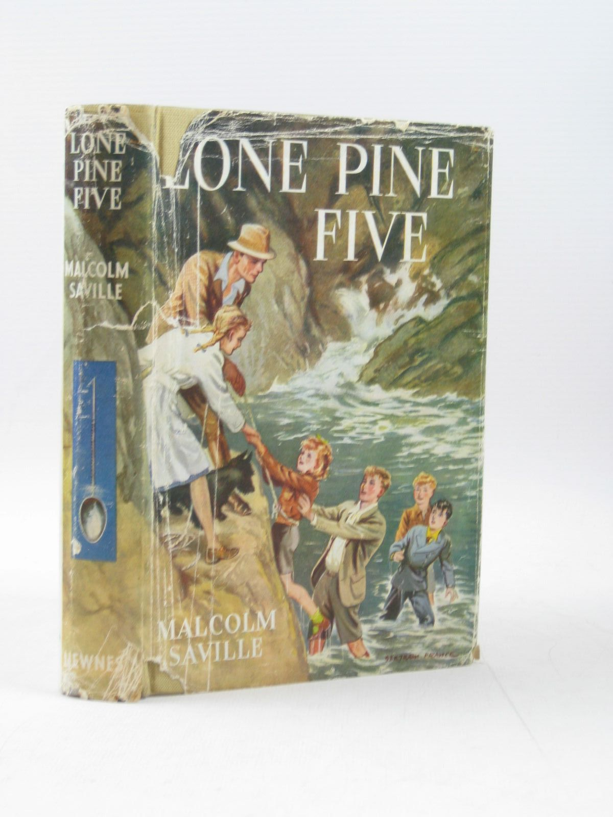 Photo of LONE PINE FIVE written by Saville, Malcolm illustrated by Prance, Bertram published by George Newnes Ltd. (STOCK CODE: 1403344)  for sale by Stella & Rose's Books