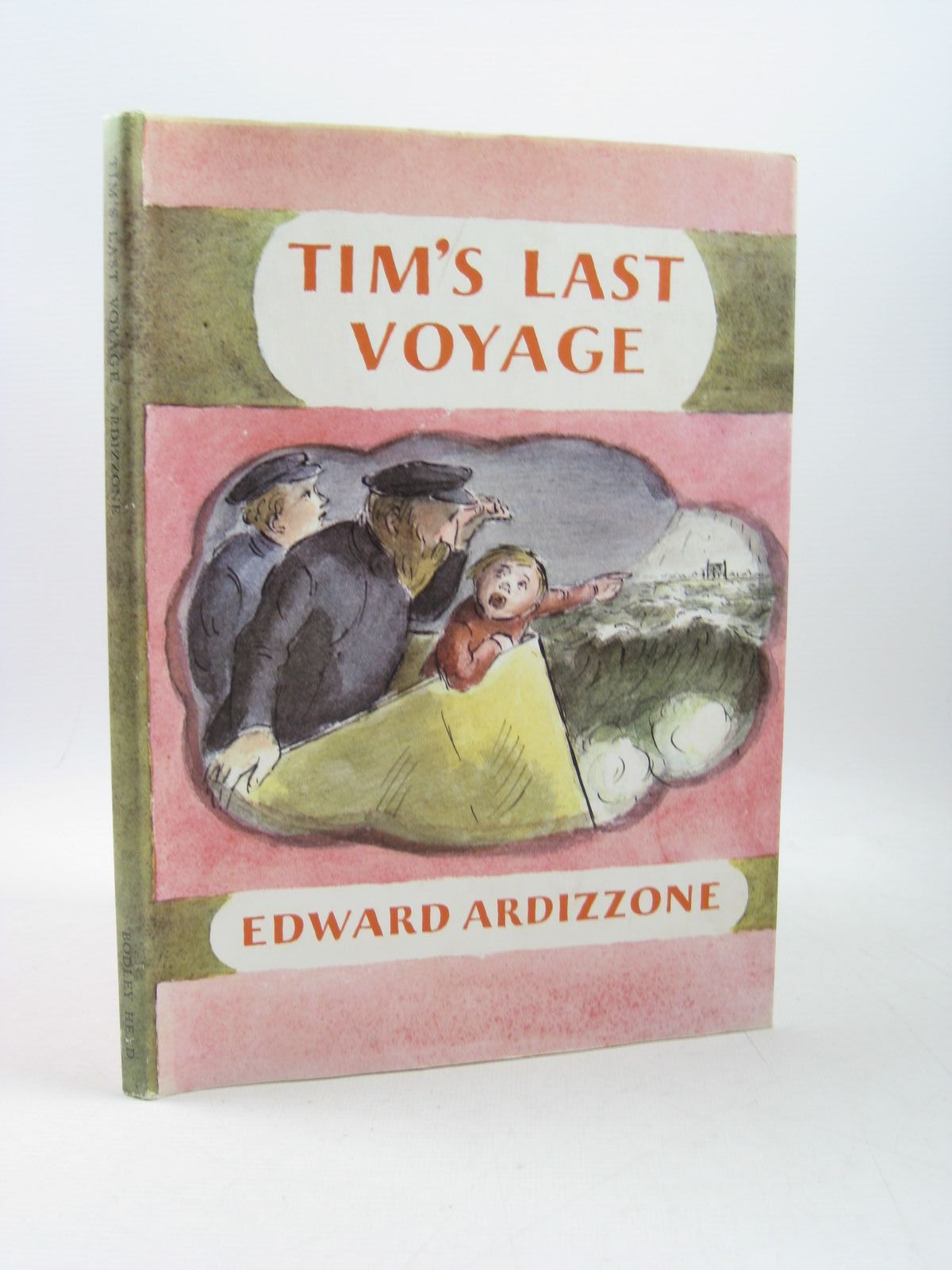 Photo of TIM'S LAST VOYAGE written by Ardizzone, Edward illustrated by Ardizzone, Edward published by The Bodley Head (STOCK CODE: 1403386)  for sale by Stella & Rose's Books