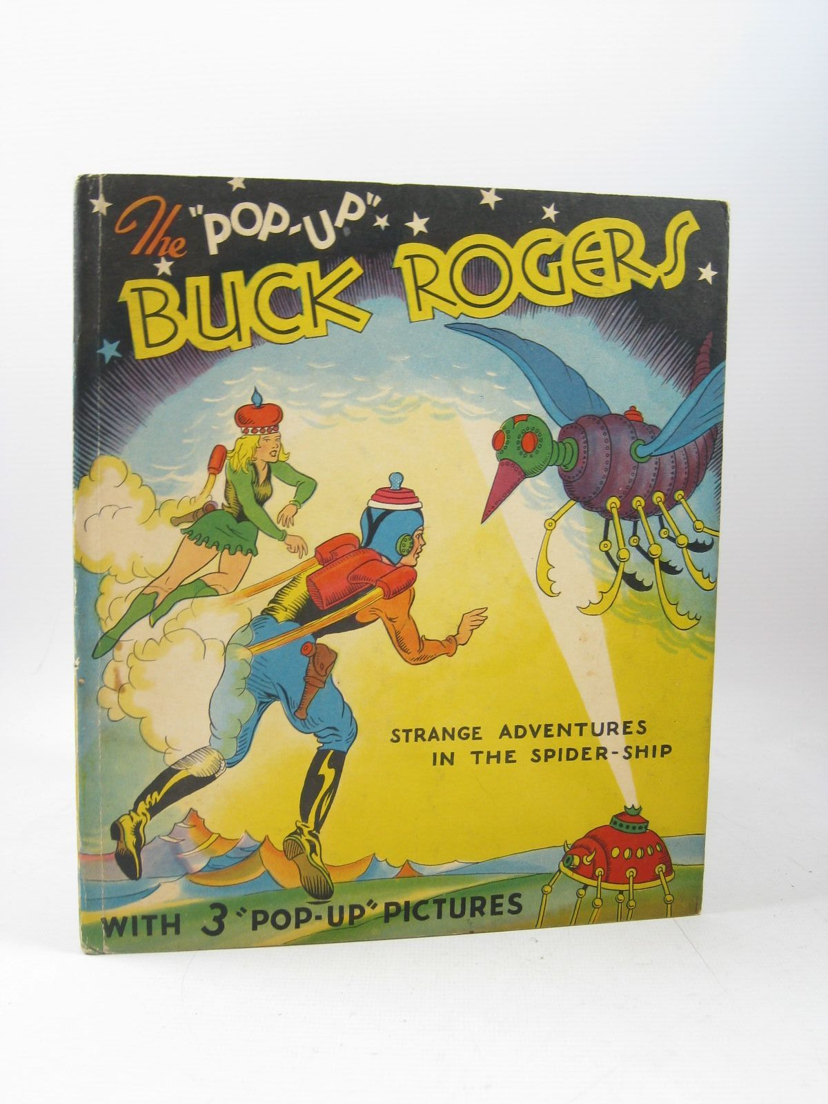 Photo of THE POP-UP BUCK ROGERS written by Nowlan, Phil illustrated by Calkins, Dick published by Pleasure Books (STOCK CODE: 1403471)  for sale by Stella & Rose's Books
