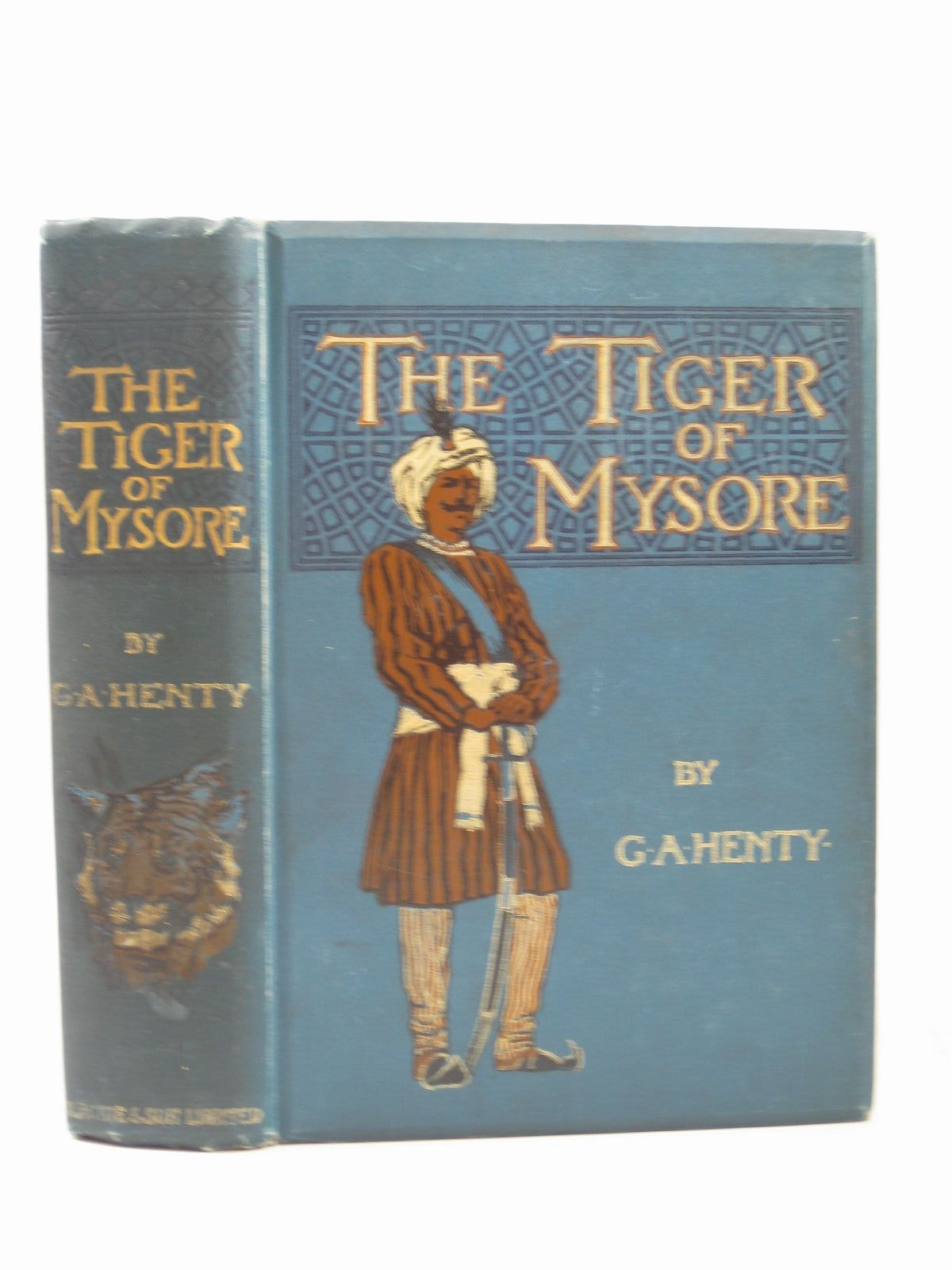 Photo of THE TIGER OF MYSORE written by Henty, G.A. illustrated by Margetson, W.H. published by Blackie & Son Ltd. (STOCK CODE: 1403485)  for sale by Stella & Rose's Books