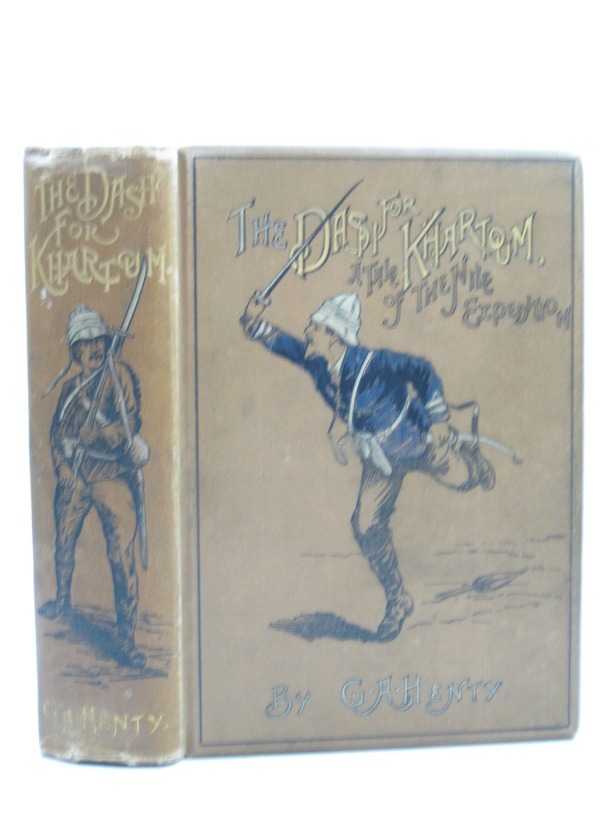 Photo of THE DASH FOR KHARTOUM written by Henty, G.A. illustrated by Nash, Joseph<br />Schonberg, John published by Blackie & Son Ltd. (STOCK CODE: 1403555)  for sale by Stella & Rose's Books