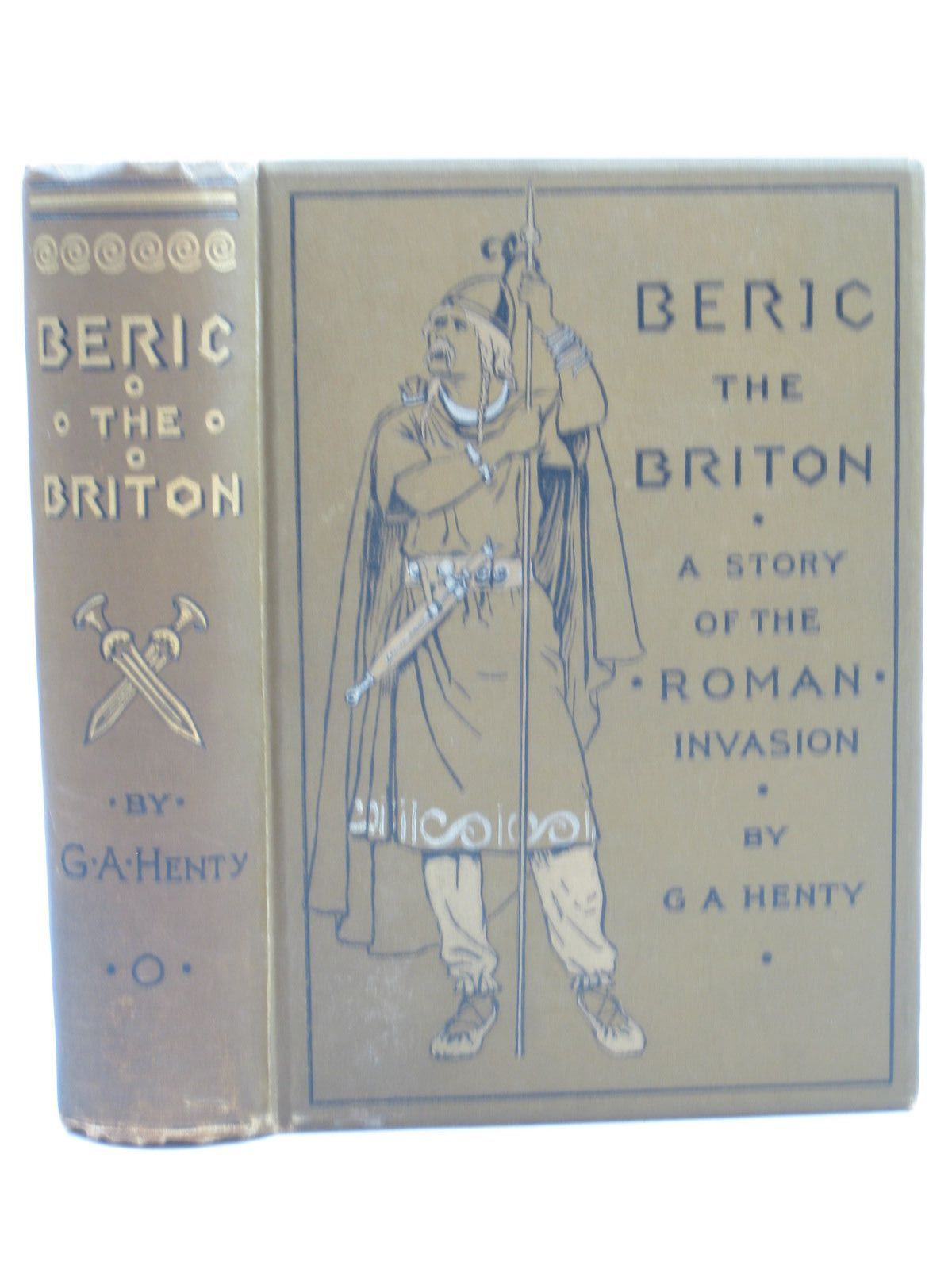 Photo of BERIC THE BRITON written by Henty, G.A. illustrated by Parkinson, W. published by Blackie & Son Ltd. (STOCK CODE: 1403587)  for sale by Stella & Rose's Books