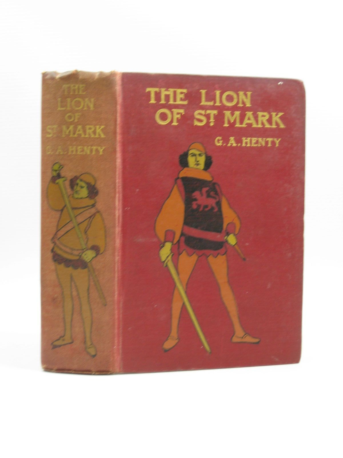 Photo of THE LION OF ST. MARK written by Henty, G.A. published by Blackie & Son Ltd. (STOCK CODE: 1403626)  for sale by Stella & Rose's Books