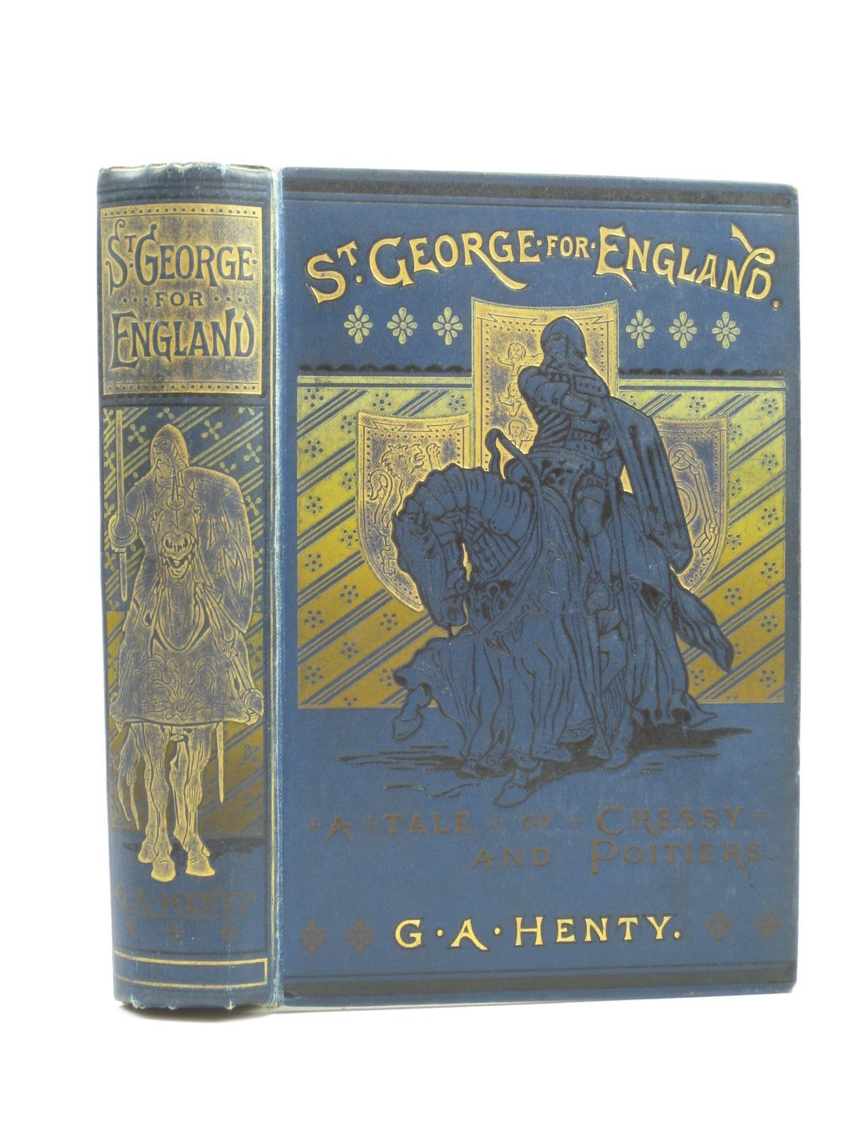Photo of ST. GEORGE FOR ENGLAND written by Henty, G.A. illustrated by Browne, Gordon published by Blackie & Son Ltd. (STOCK CODE: 1403631)  for sale by Stella & Rose's Books