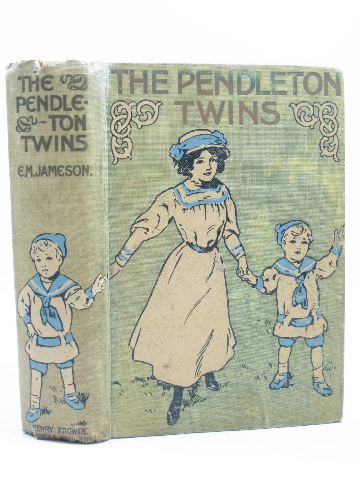 Photo of THE PENDLETON TWINS written by Jameson, E.M. illustrated by Pearse, S.B. published by Henry Frowde, Hodder & Stoughton (STOCK CODE: 1403735)  for sale by Stella & Rose's Books