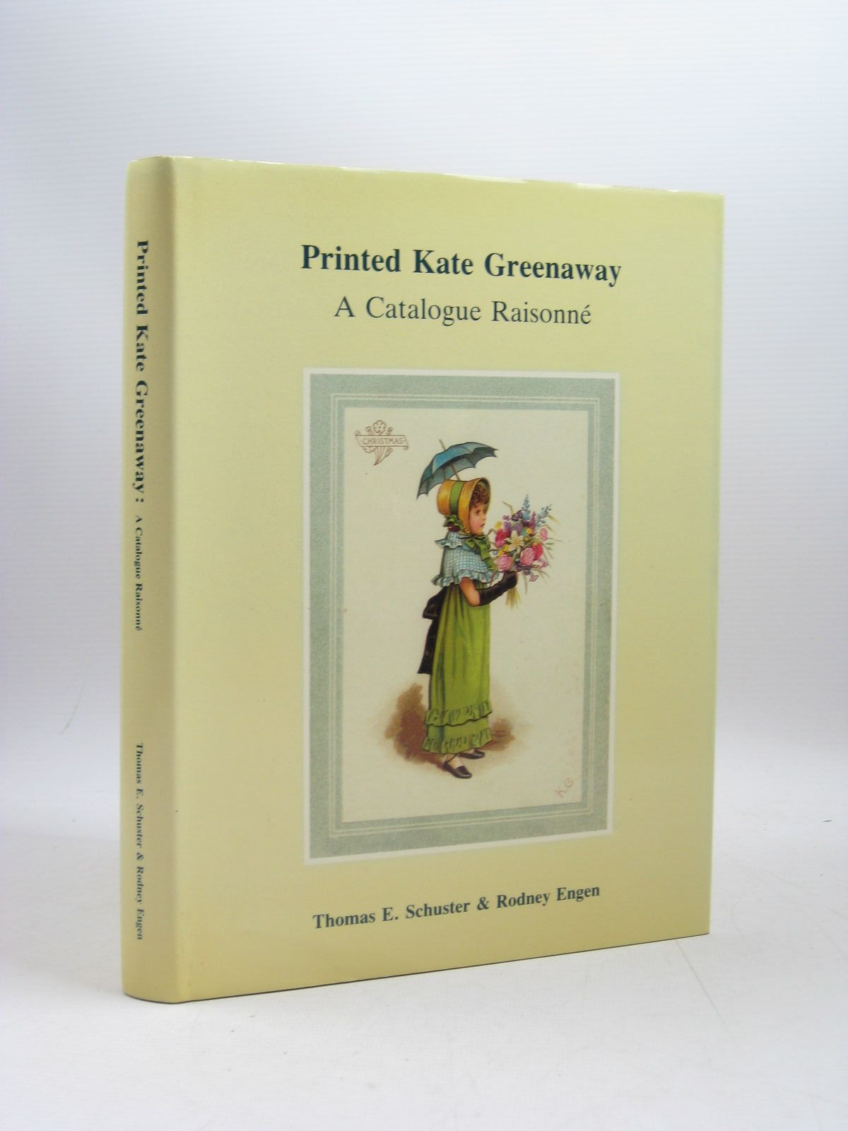 Photo of PRINTED KATE GREENAWAY A CATALOGUE RAISONNE written by Schuster, Thomas E.<br />Engen, Rodney K. illustrated by Greenaway, Kate published by T.E. Schuster (STOCK CODE: 1403761)  for sale by Stella & Rose's Books