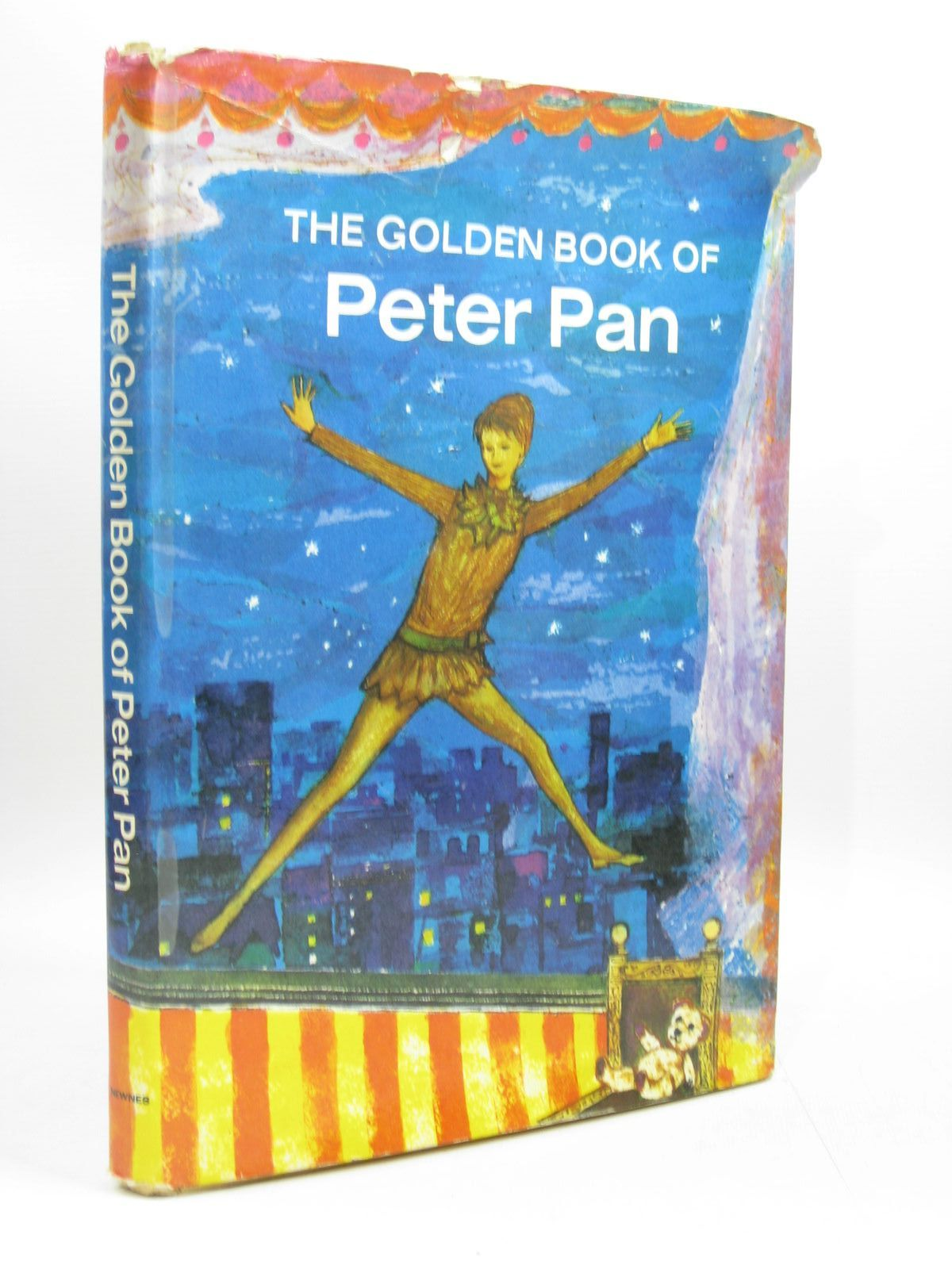 Photo of THE GOLDEN BOOK OF PETER PAN written by Owen, Robert published by George Newnes Ltd. (STOCK CODE: 1403773)  for sale by Stella & Rose's Books
