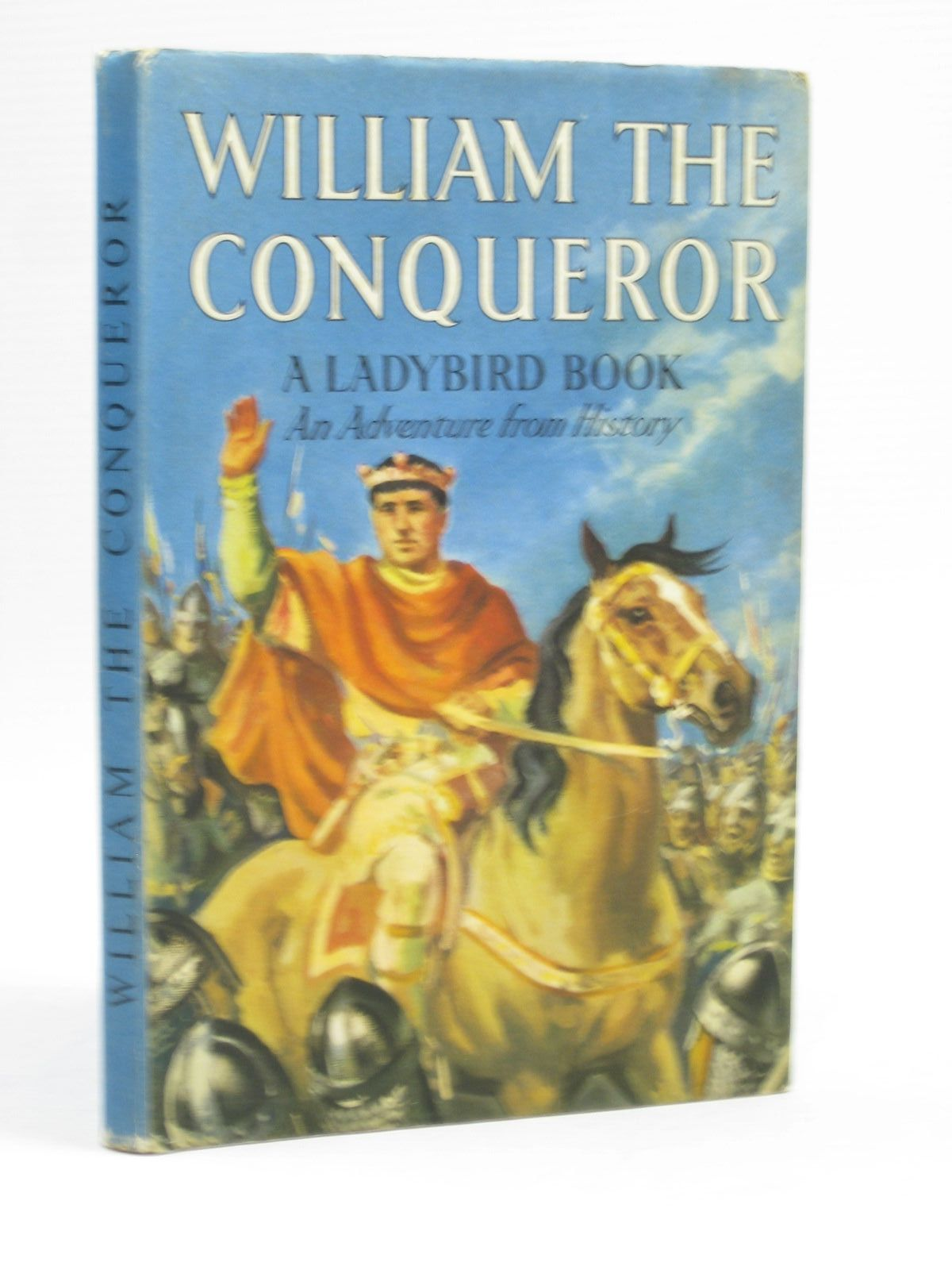 Photo of WILLIAM THE CONQUEROR written by Peach, L. Du Garde illustrated by Kenney, John published by Wills & Hepworth Ltd. (STOCK CODE: 1403819)  for sale by Stella & Rose's Books