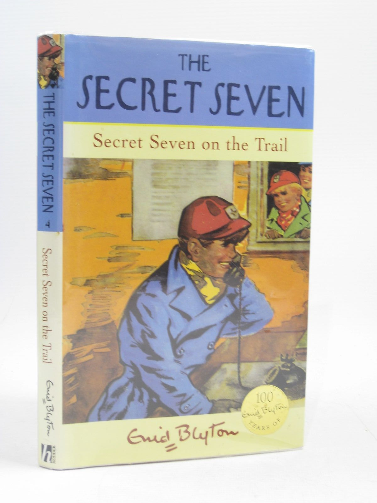 Photo of SECRET SEVEN ON THE TRAIL written by Blyton, Enid illustrated by Brook, George published by Hodder Children's Books (STOCK CODE: 1403844)  for sale by Stella & Rose's Books