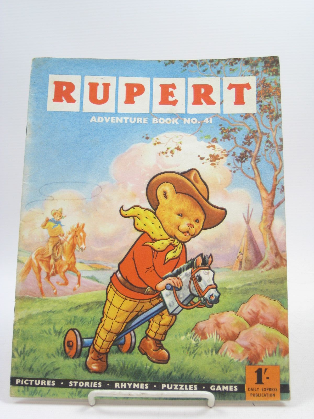 Photo of RUPERT ADVENTURE BOOK No. 41 written by Bestall, Alfred published by Daily Express (STOCK CODE: 1403899)  for sale by Stella & Rose's Books