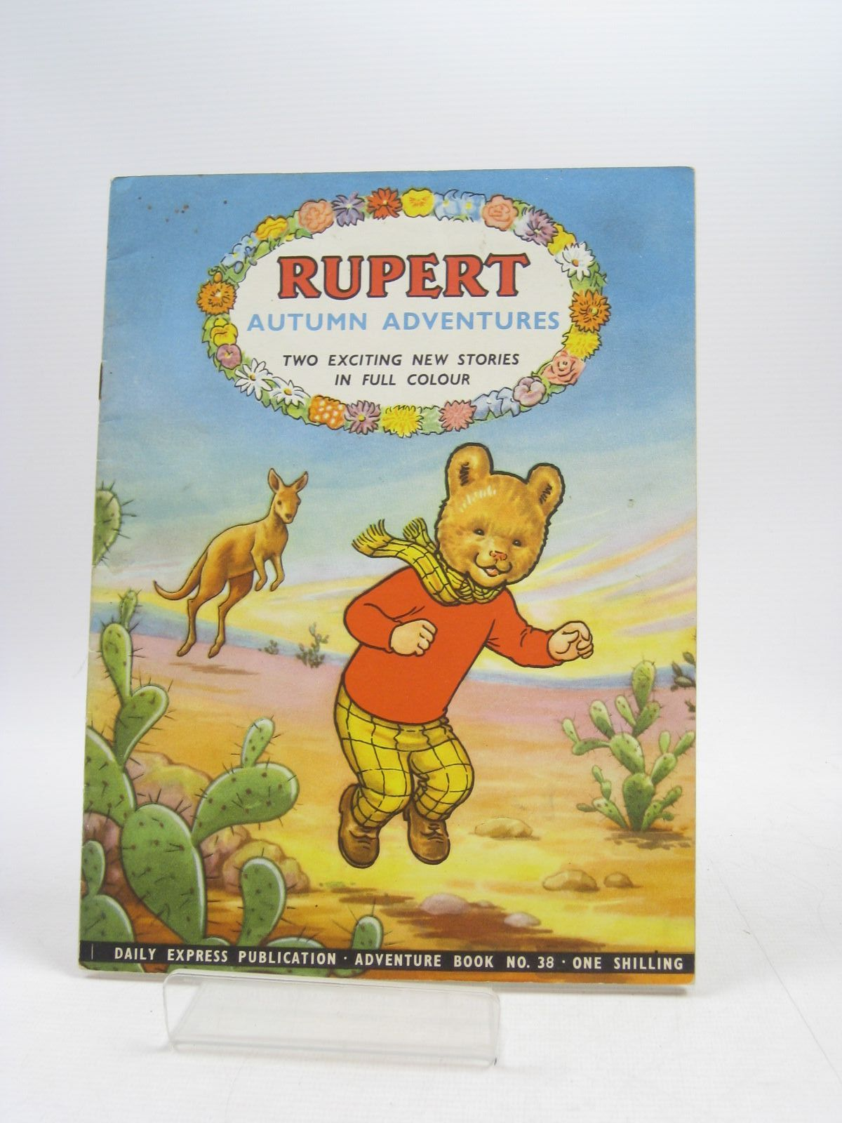 Photo of RUPERT ADVENTURE BOOK No. 38 - AUTUMN ADVENTURES written by Bestall, Alfred published by Daily Express (STOCK CODE: 1403904)  for sale by Stella & Rose's Books
