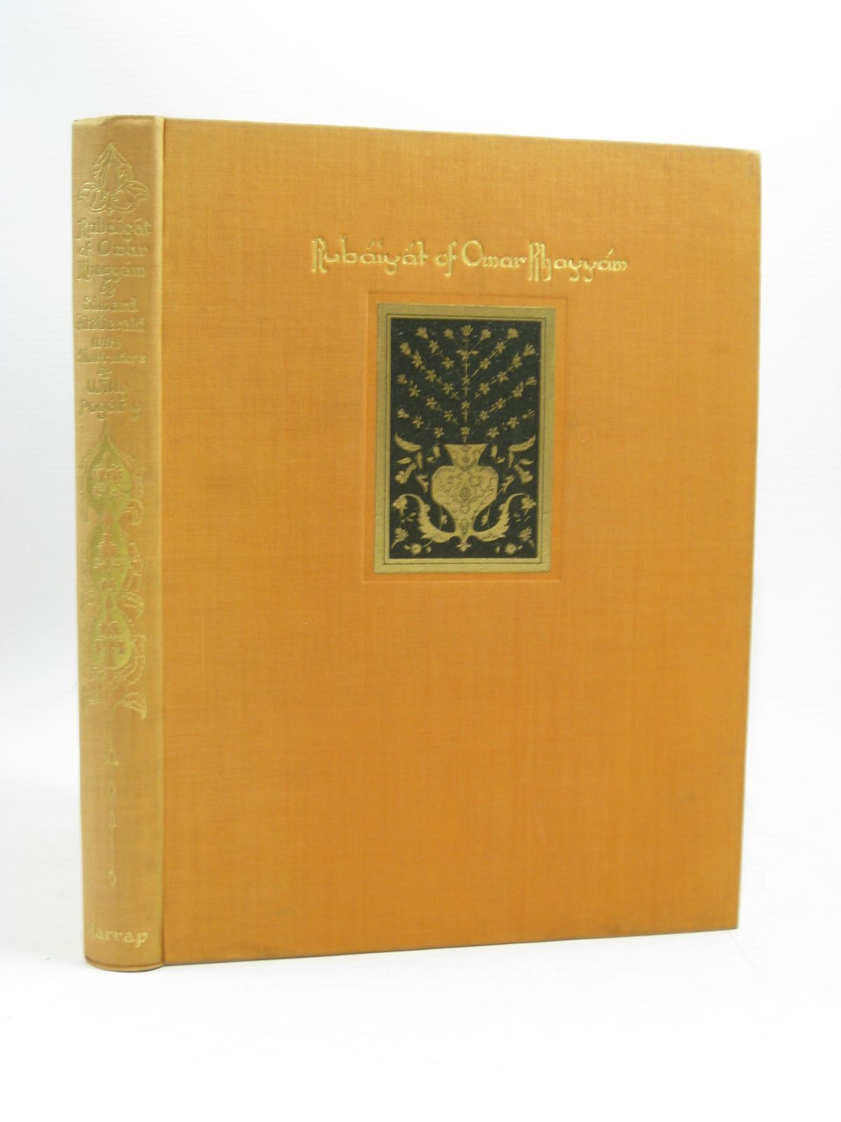 Photo of RUBAIYAT OF OMAR KHAYYAM written by Fitzgerald, Edward illustrated by Pogany, Willy published by George G. Harrap & Co. Ltd. (STOCK CODE: 1403975)  for sale by Stella & Rose's Books