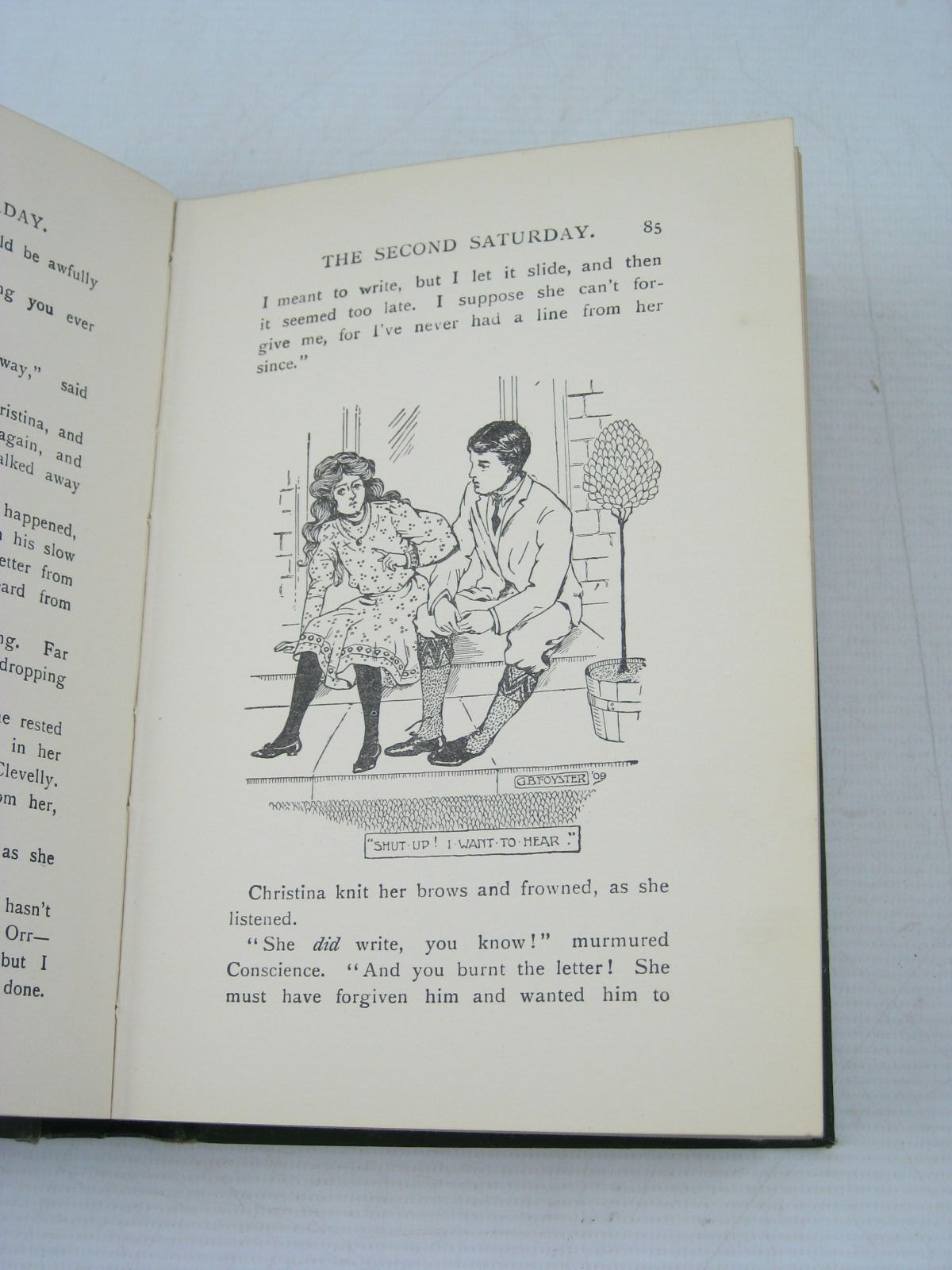 Photo of THE CONQUEST OF CHRISTINA written by Oxenham, Elsie J. illustrated by Foyster, G.B. published by Collins Clear-Type Press (STOCK CODE: 1404020)  for sale by Stella & Rose's Books
