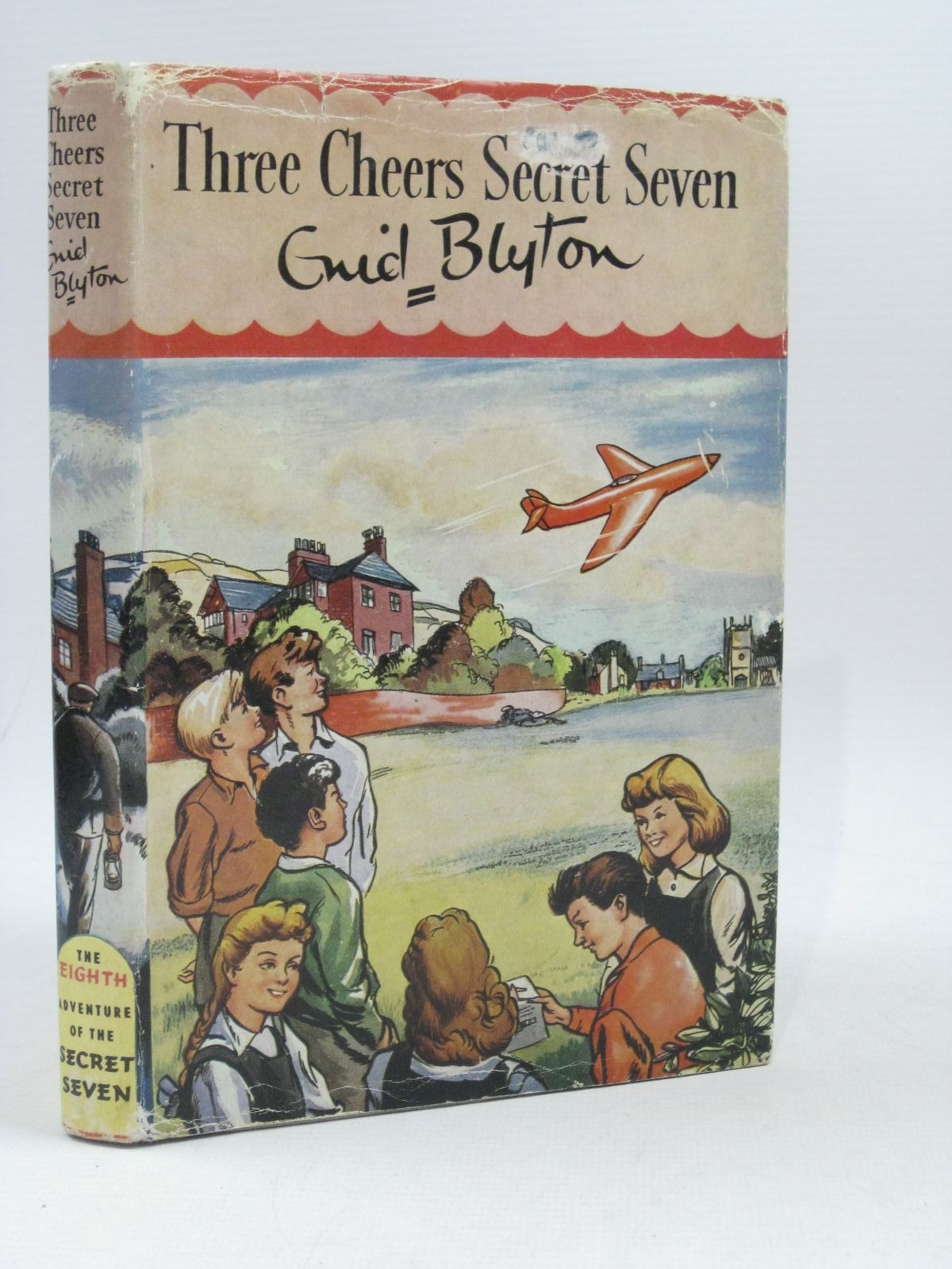 Photo of THREE CHEERS SECRET SEVEN written by Blyton, Enid illustrated by Sharrocks, Burgess published by Brockhampton Press (STOCK CODE: 1404146)  for sale by Stella & Rose's Books