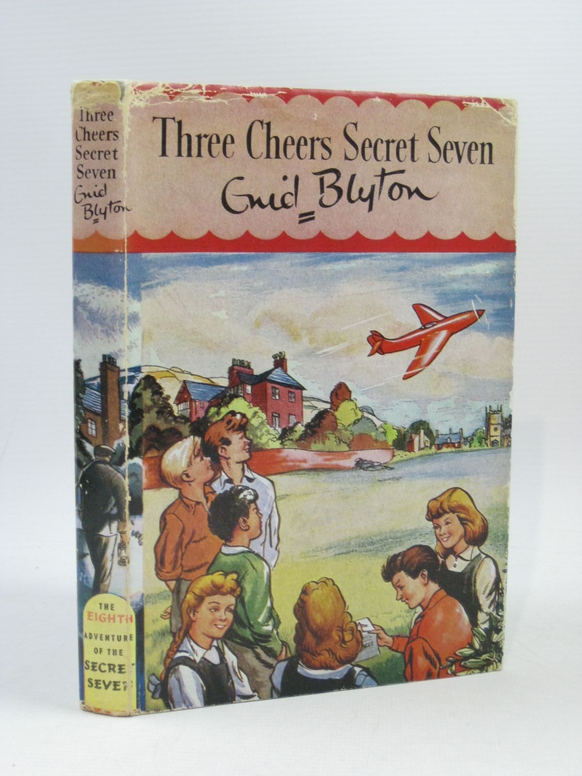 Photo of THREE CHEERS SECRET SEVEN written by Blyton, Enid illustrated by Sharrocks, Burgess published by Brockhampton Press (STOCK CODE: 1404150)  for sale by Stella & Rose's Books